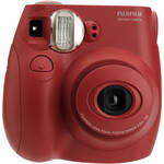 FUJIFILM INSTAX Mini 7S Instant Film Camera with 60mm Lens - Red