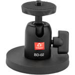 """Oben Magnetic Mount with 1/4""""-20 Mounting Screw + Oben Mini Ball Head"""
