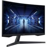 "Samsung Odyssey G5 27"" Curved WQHD VA Gaming Monitor"