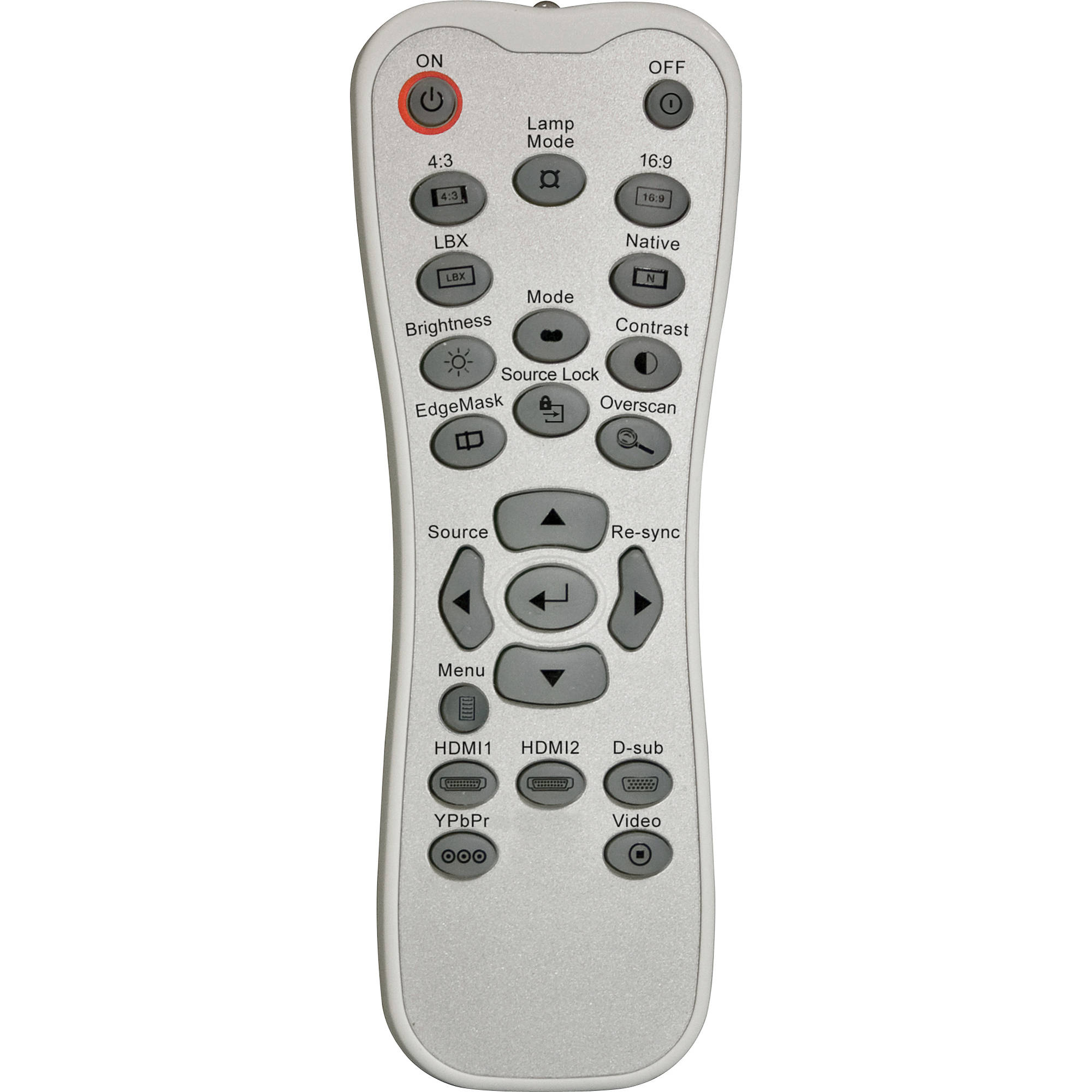 Replacement Optoma /'C/' /& /'DH/' Projector Remote Control