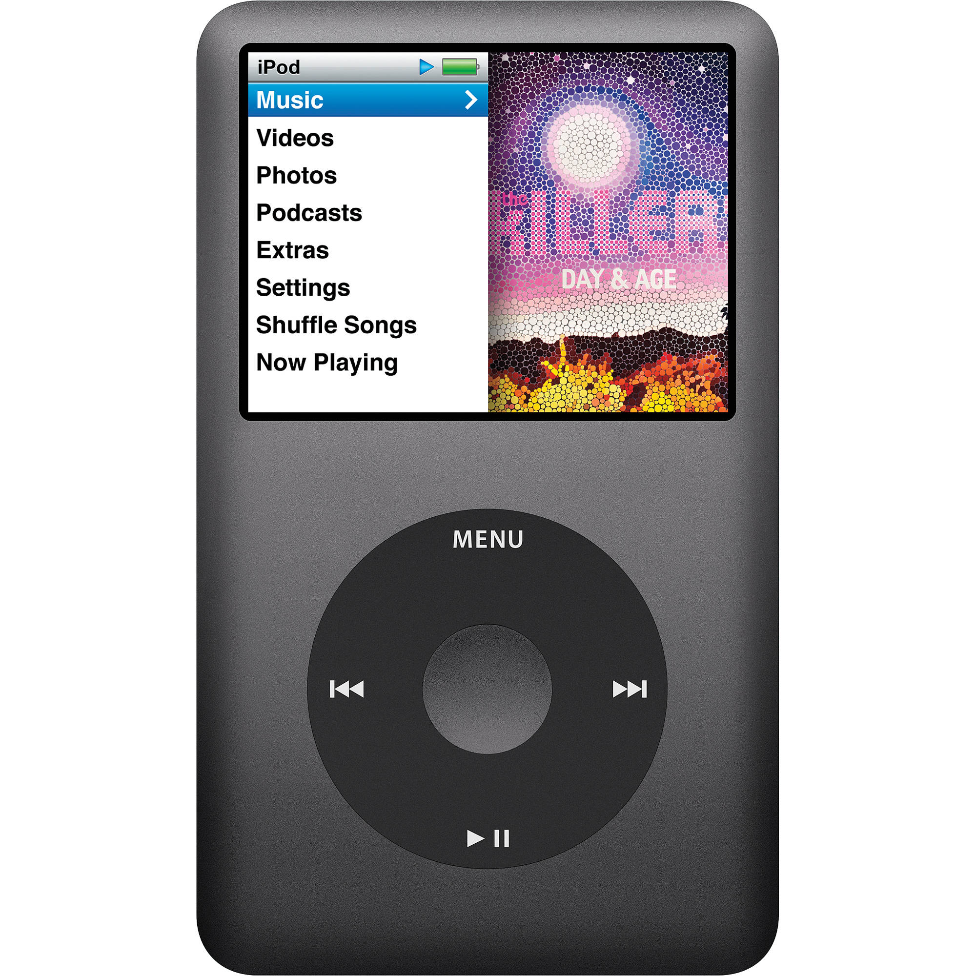 160GB New Other Space Grey Apple iPod Classic 7th Generation Black