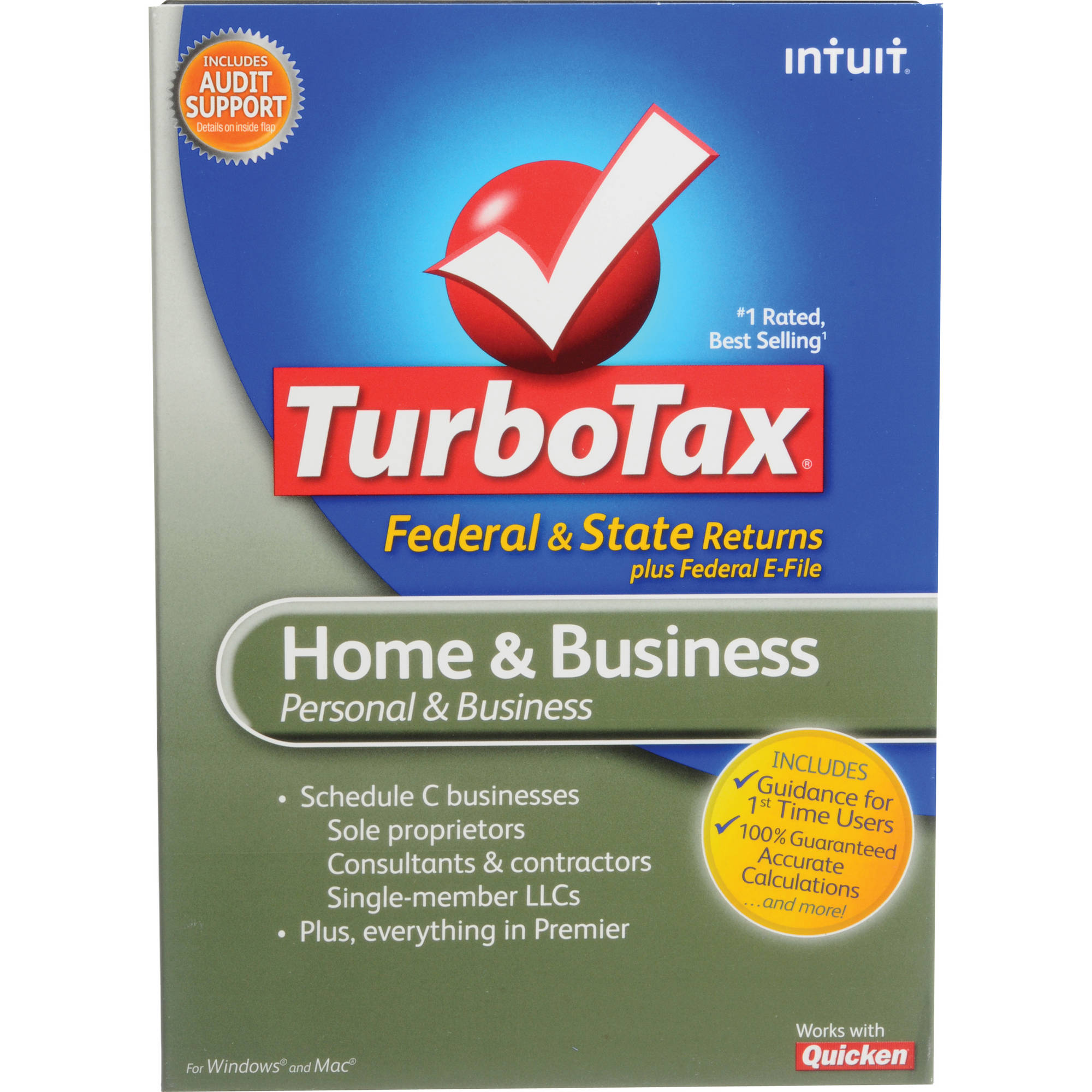 2020 Turbotax Home And Business.Intuit Turbotax Home Business Software