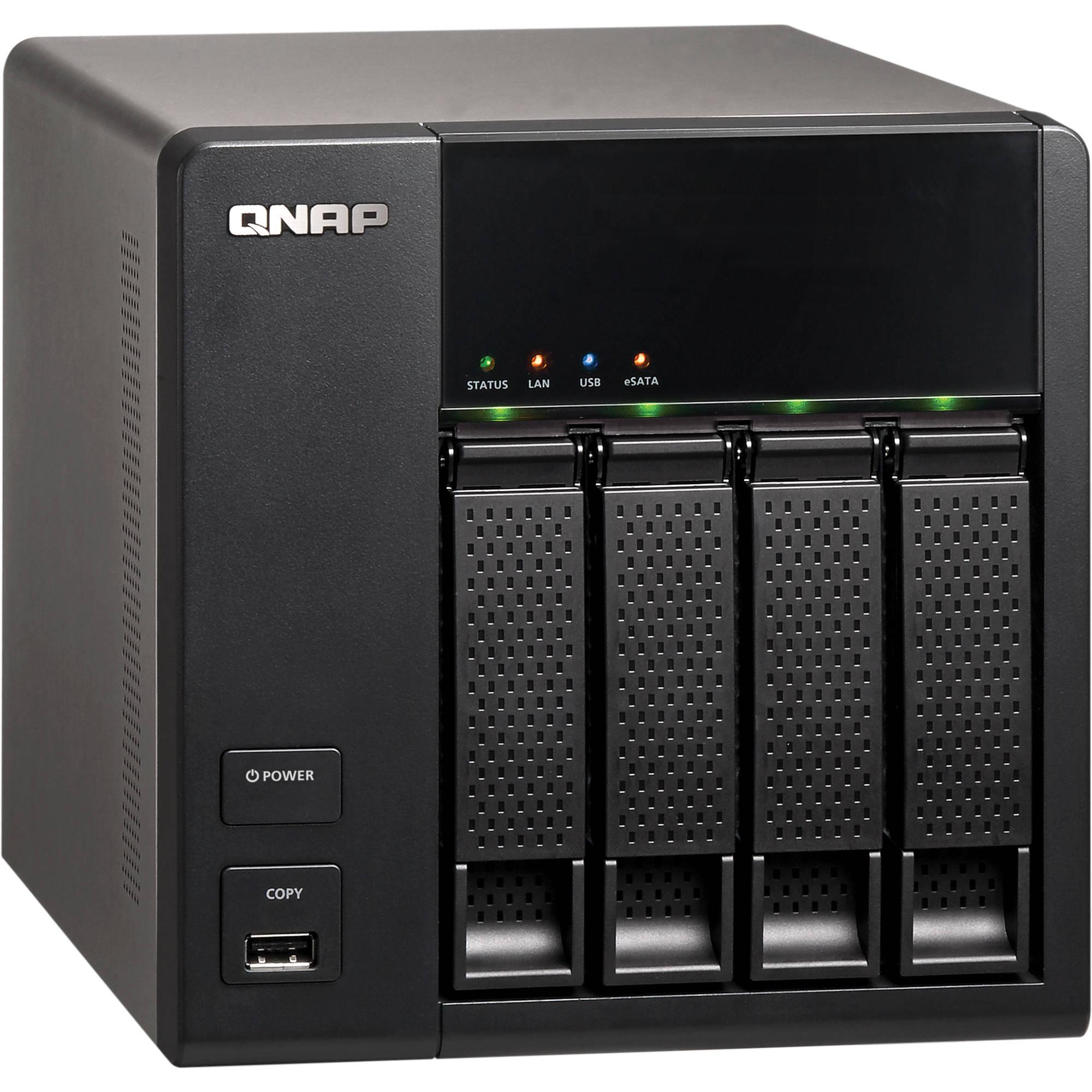 QNAP TS-412 Turbo NAS Server