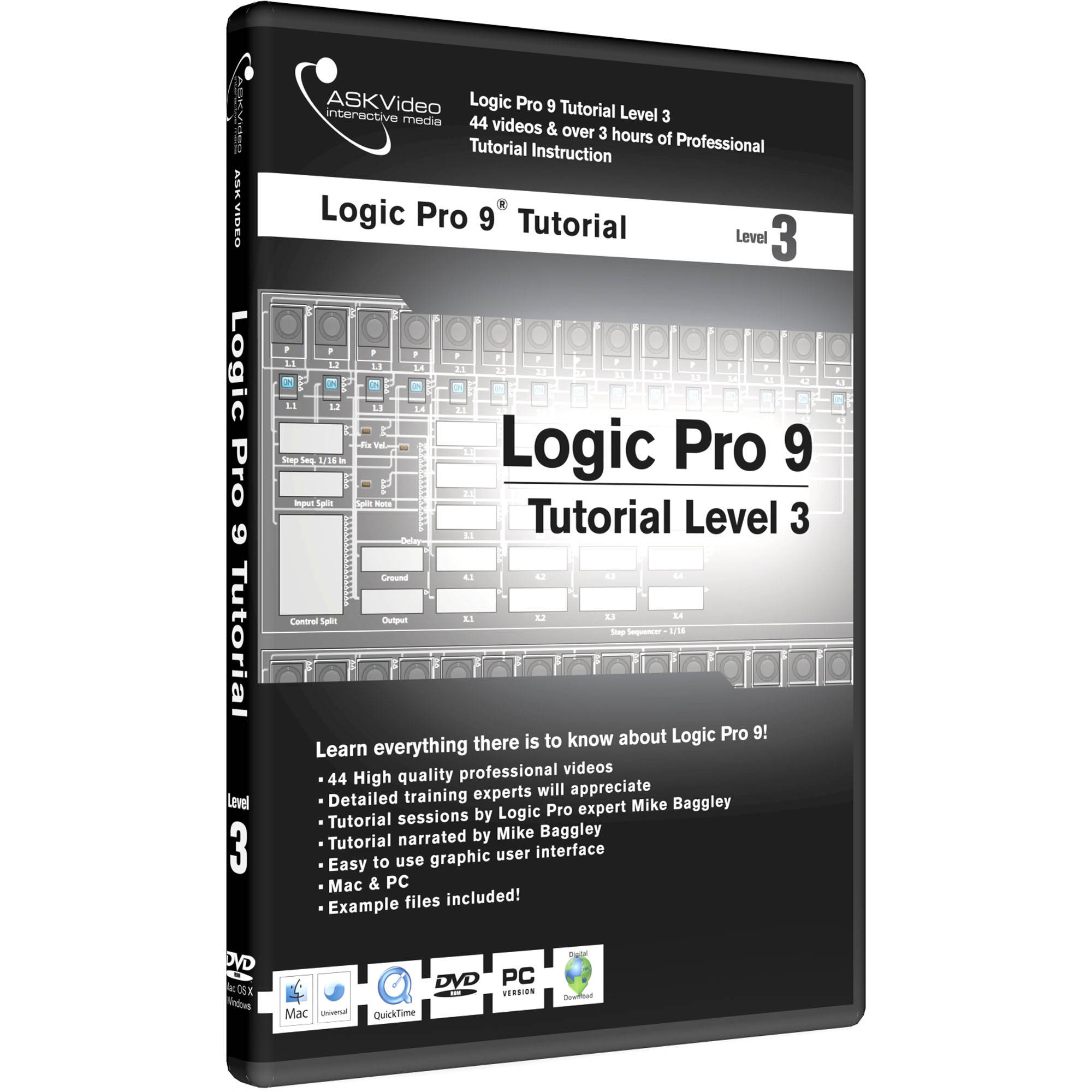 ASK Video Electronic Download: Logic Pro 9 Tutorial Level 3