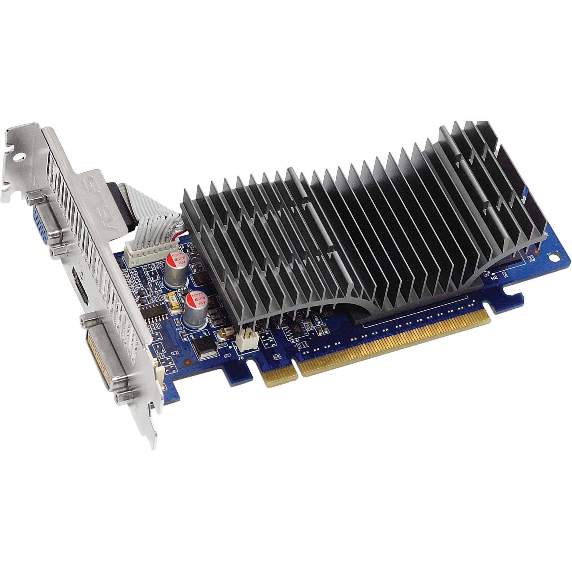 ASUS EN210 SILENT/DI/512MD2(LP) nVIDIA GeForce 210 Display Card