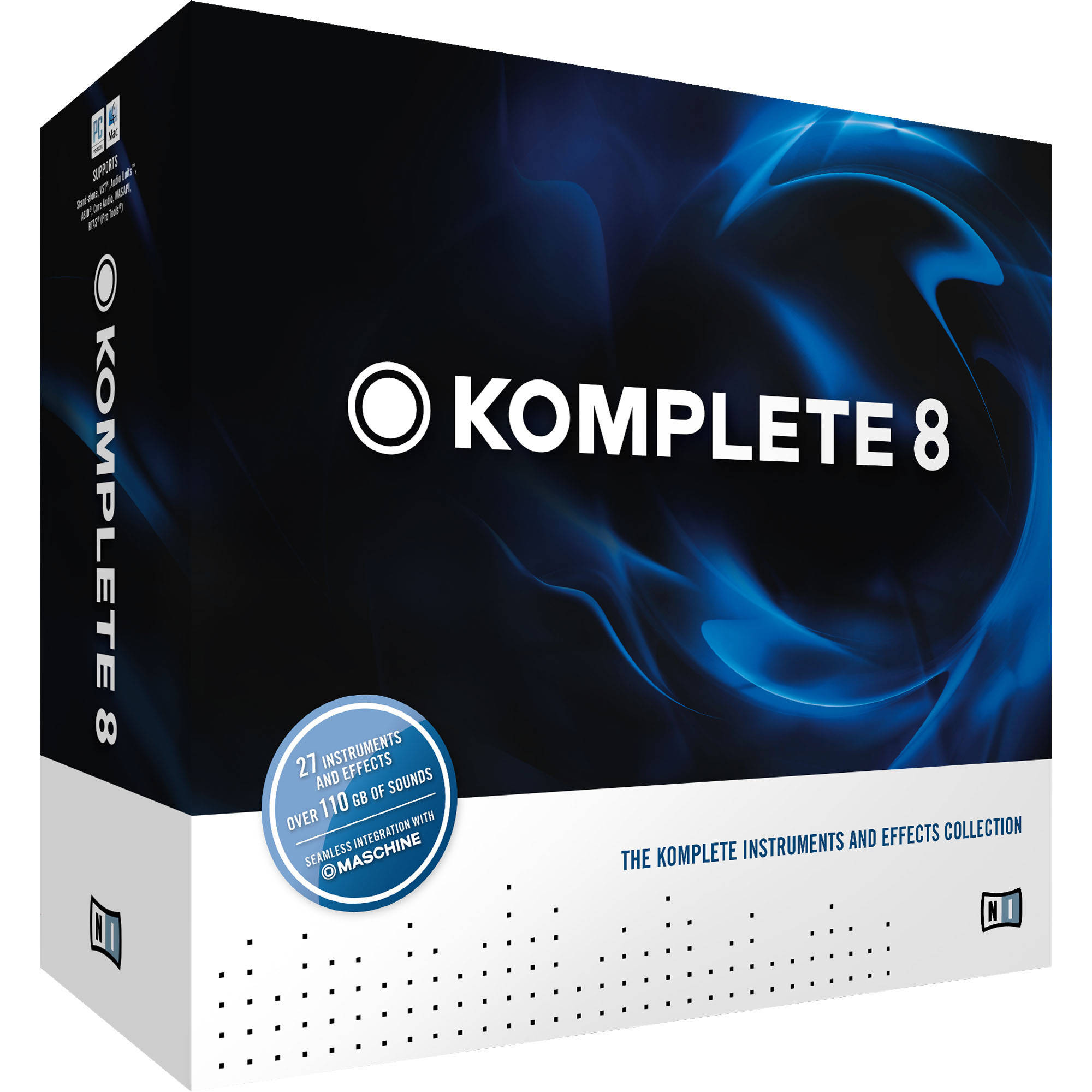 Native Instruments KOMPLETE 8 - Virtual Instruments and Effects Collection