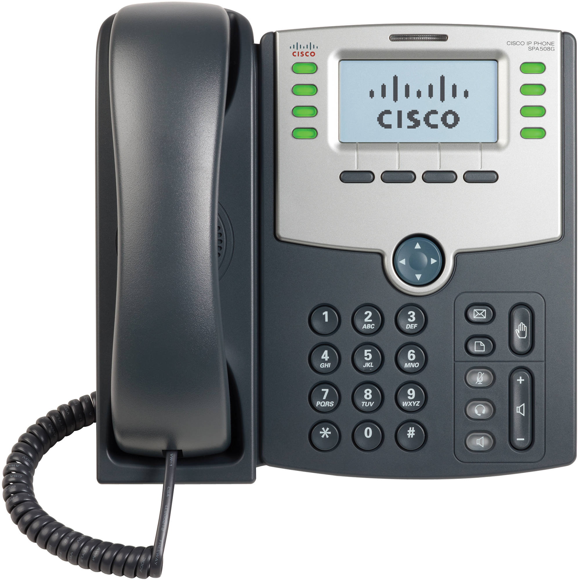 Cisco SPA508G Phone w//Stand