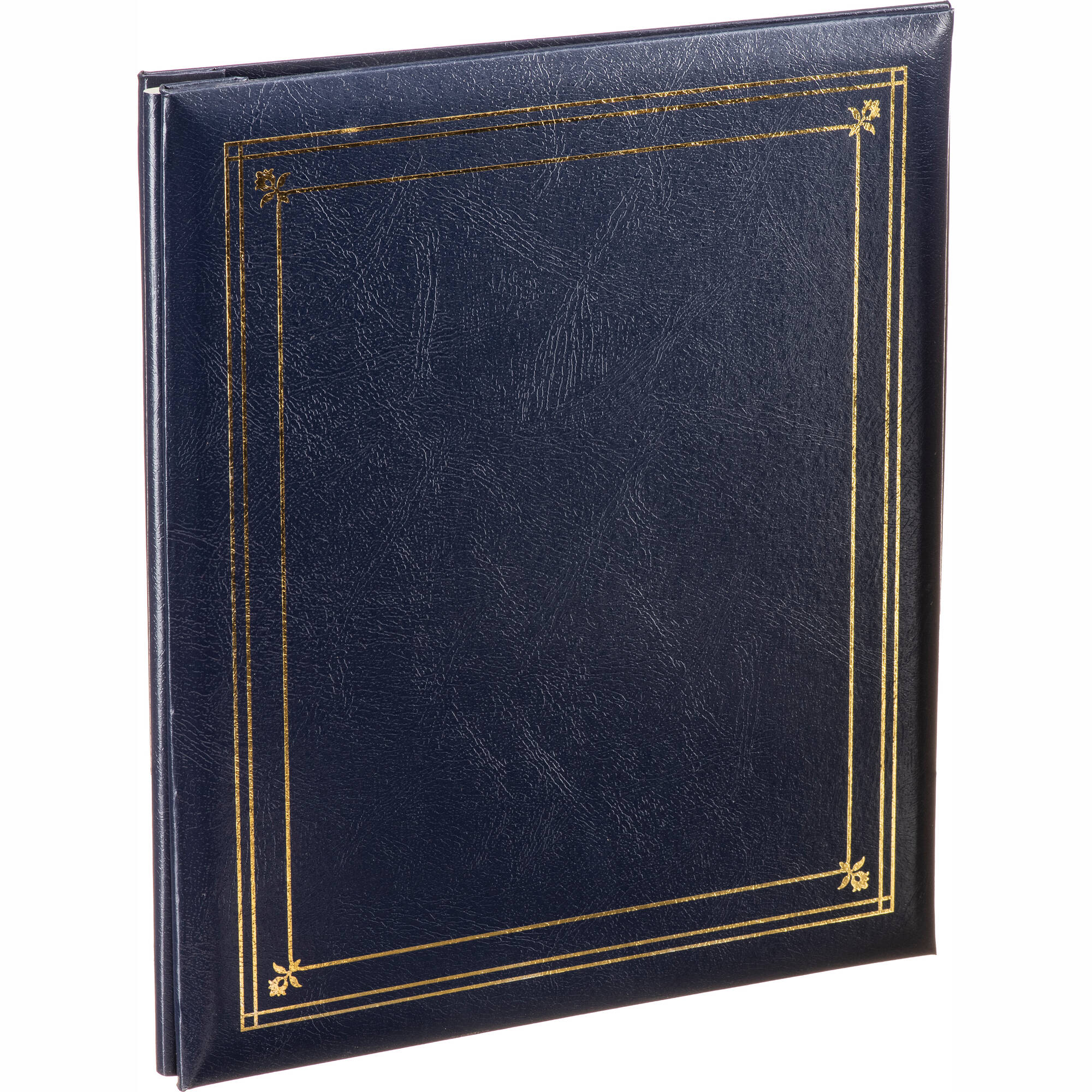 Pioneer Photo Albums Ps 5781 5x7 And 8x10 X Pando Pocket Album Navy Blue