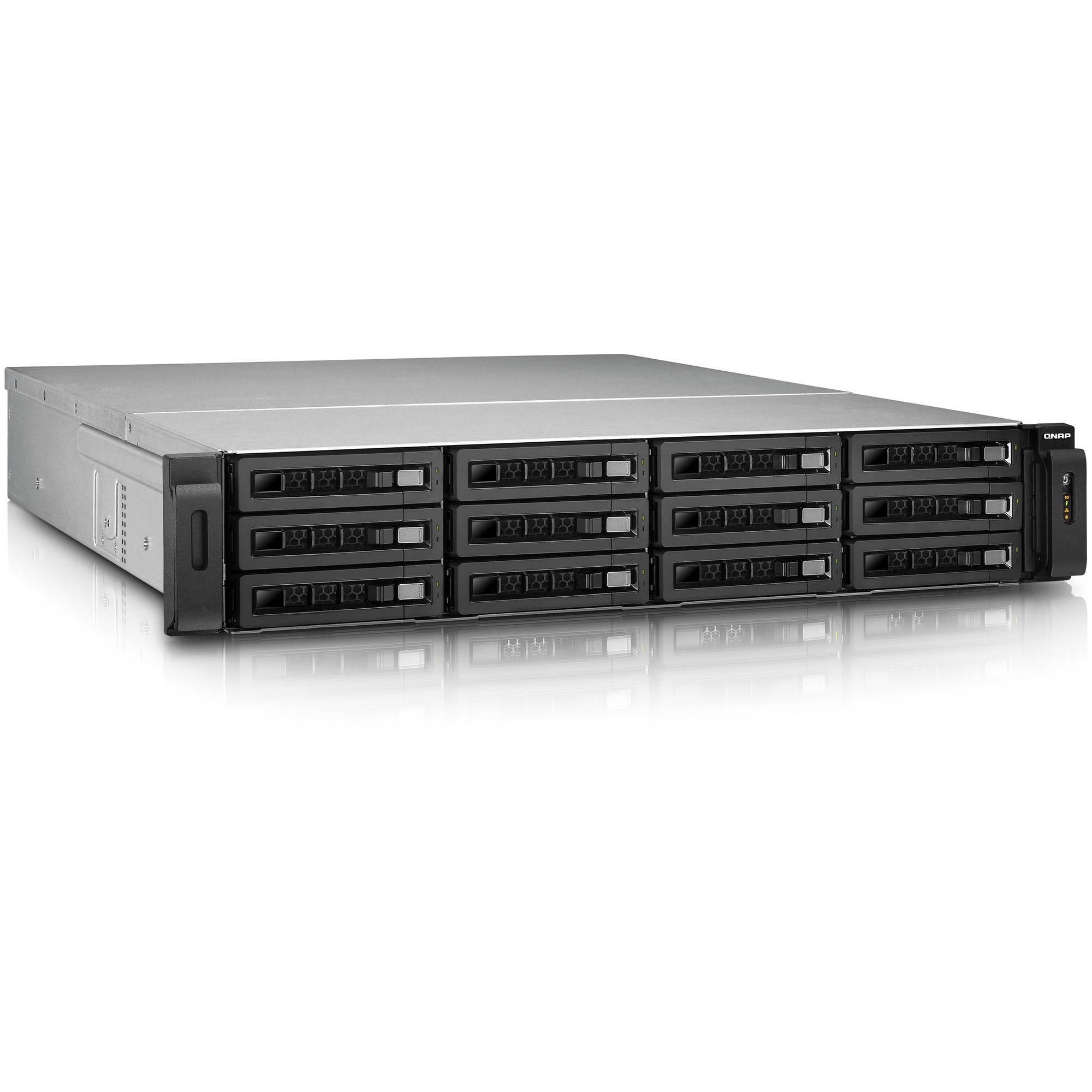 QNAP TS-EC1279U-RP 12-Bay IP-SAN/ NAS SATA 6G/ USB 3 0 Storage Solution