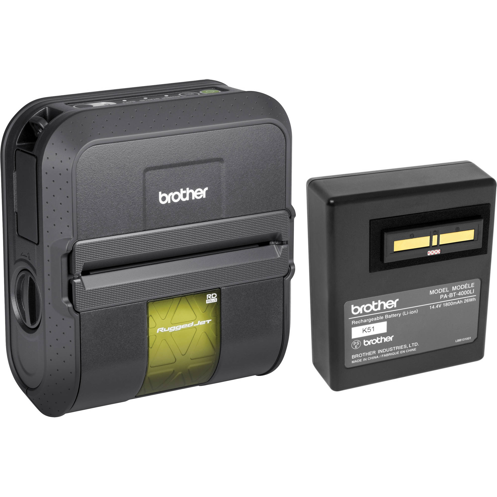 Brother PA-BT-4000LI 1800mAh Mobile Printer Battery