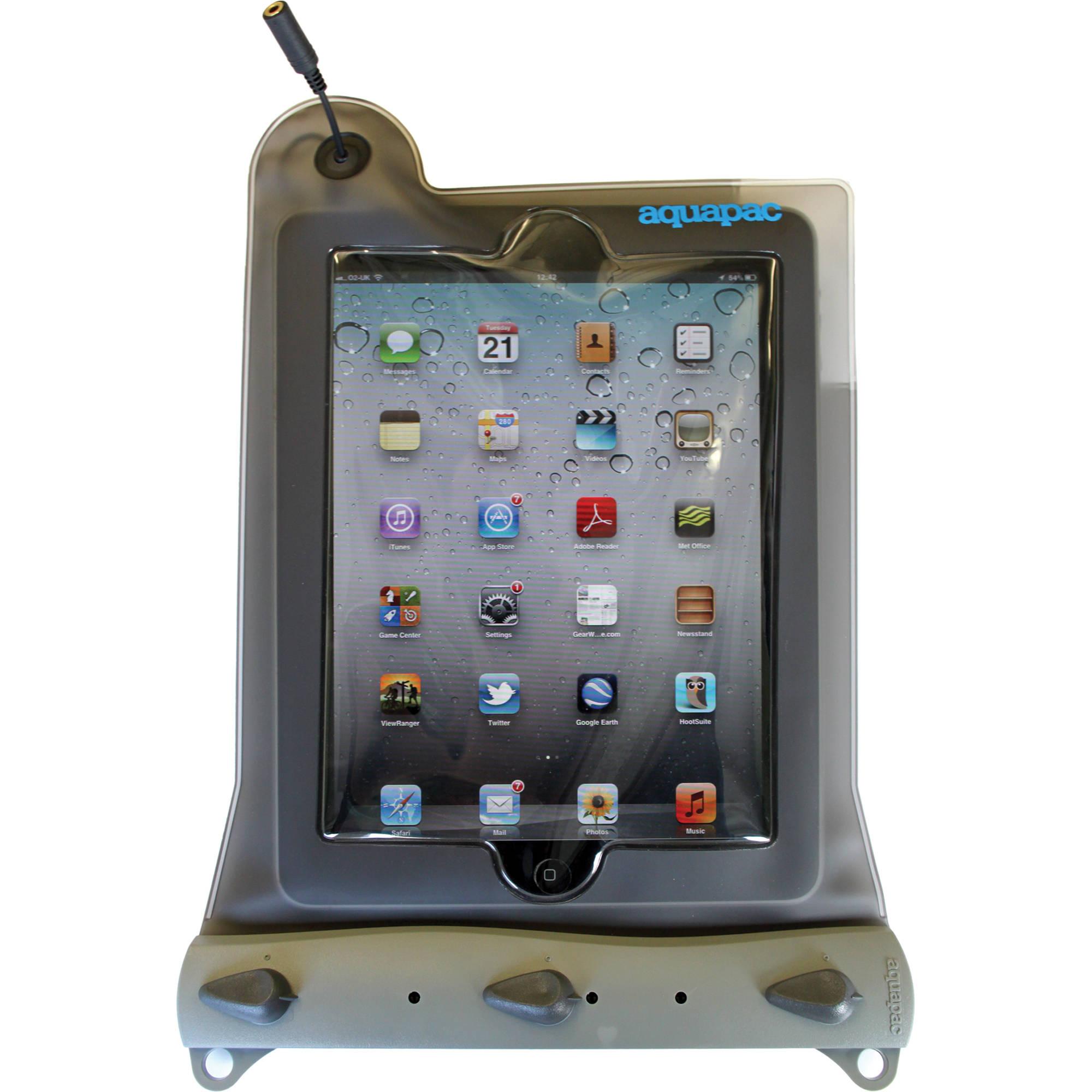 Aquapac Waterproof Case for iPad (Cool Gray)
