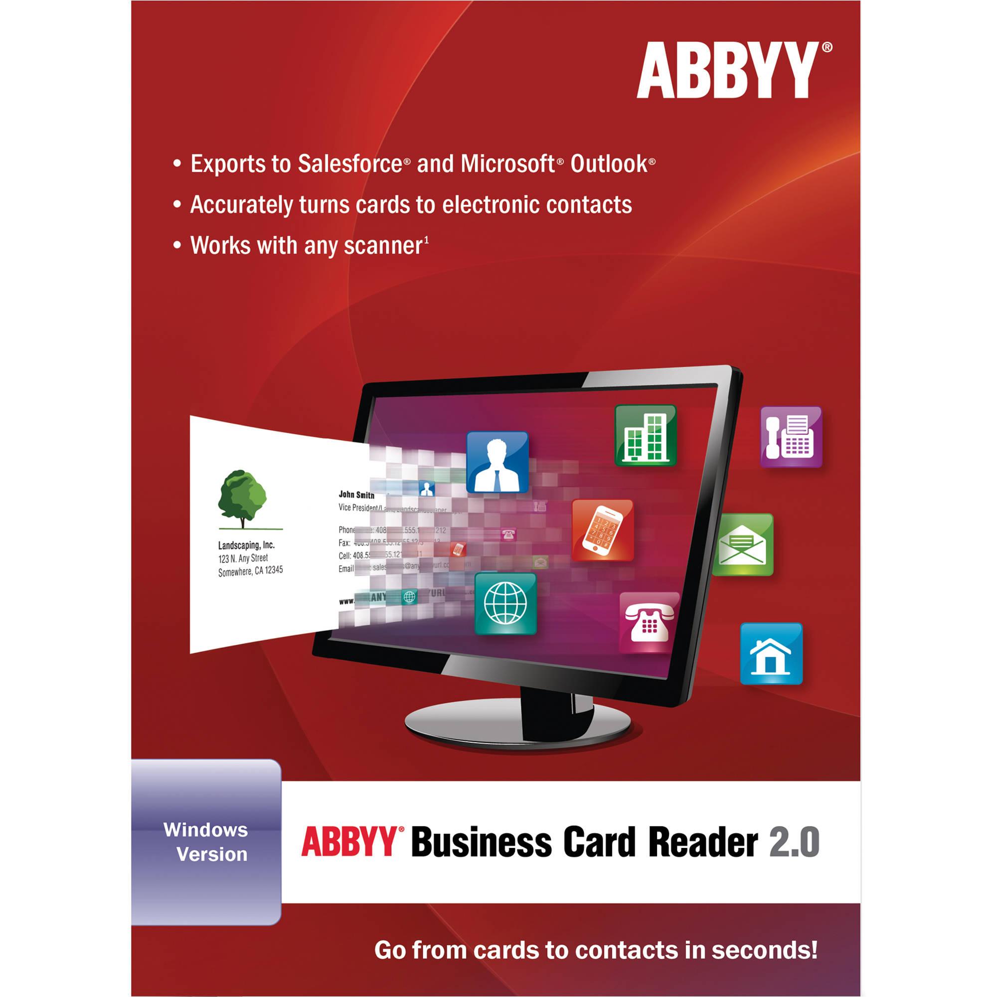 Abbyy Business Card Reader 2 0 For Windows