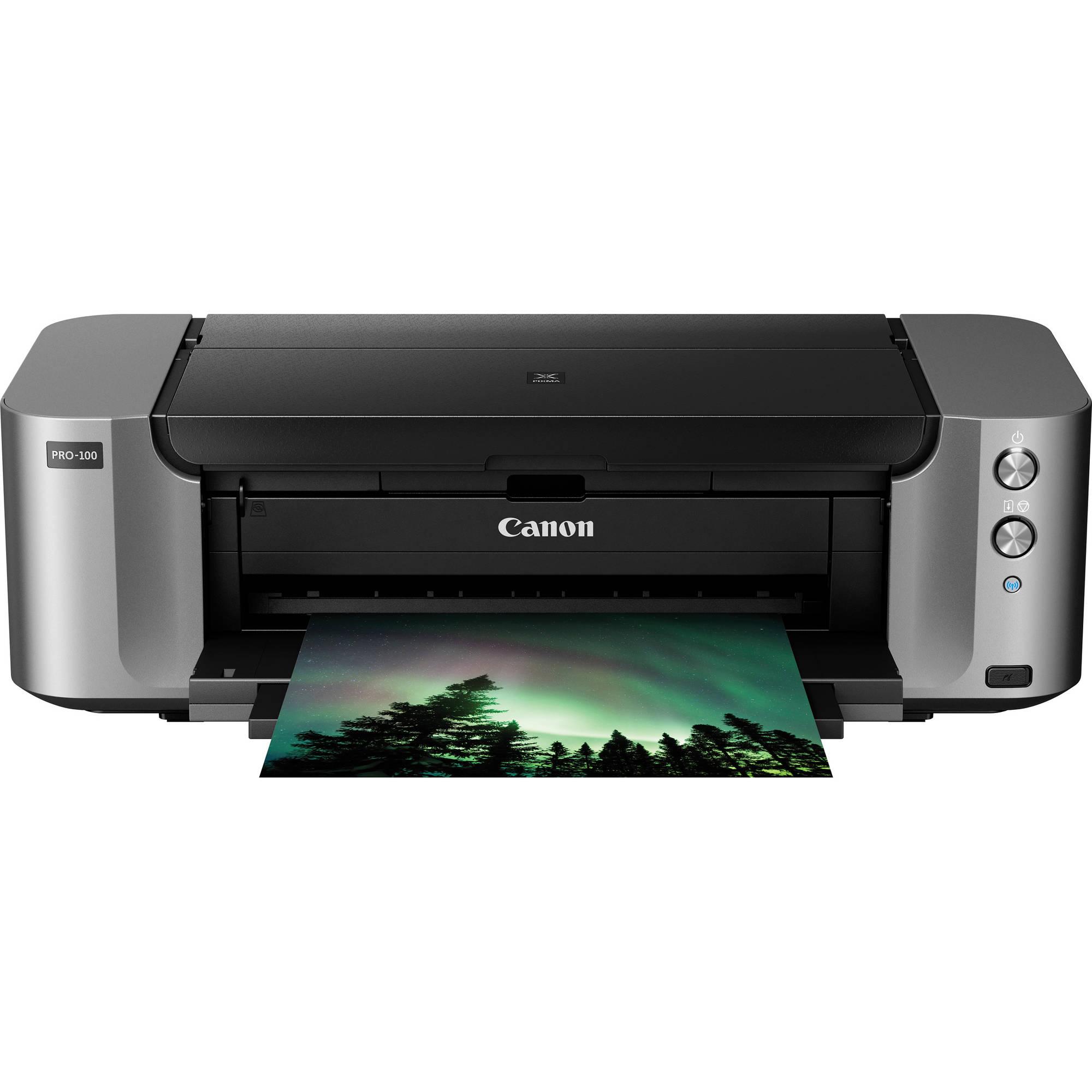 Canon PIXMA PRO-100 Wireless Professional Inkjet Photo Printer