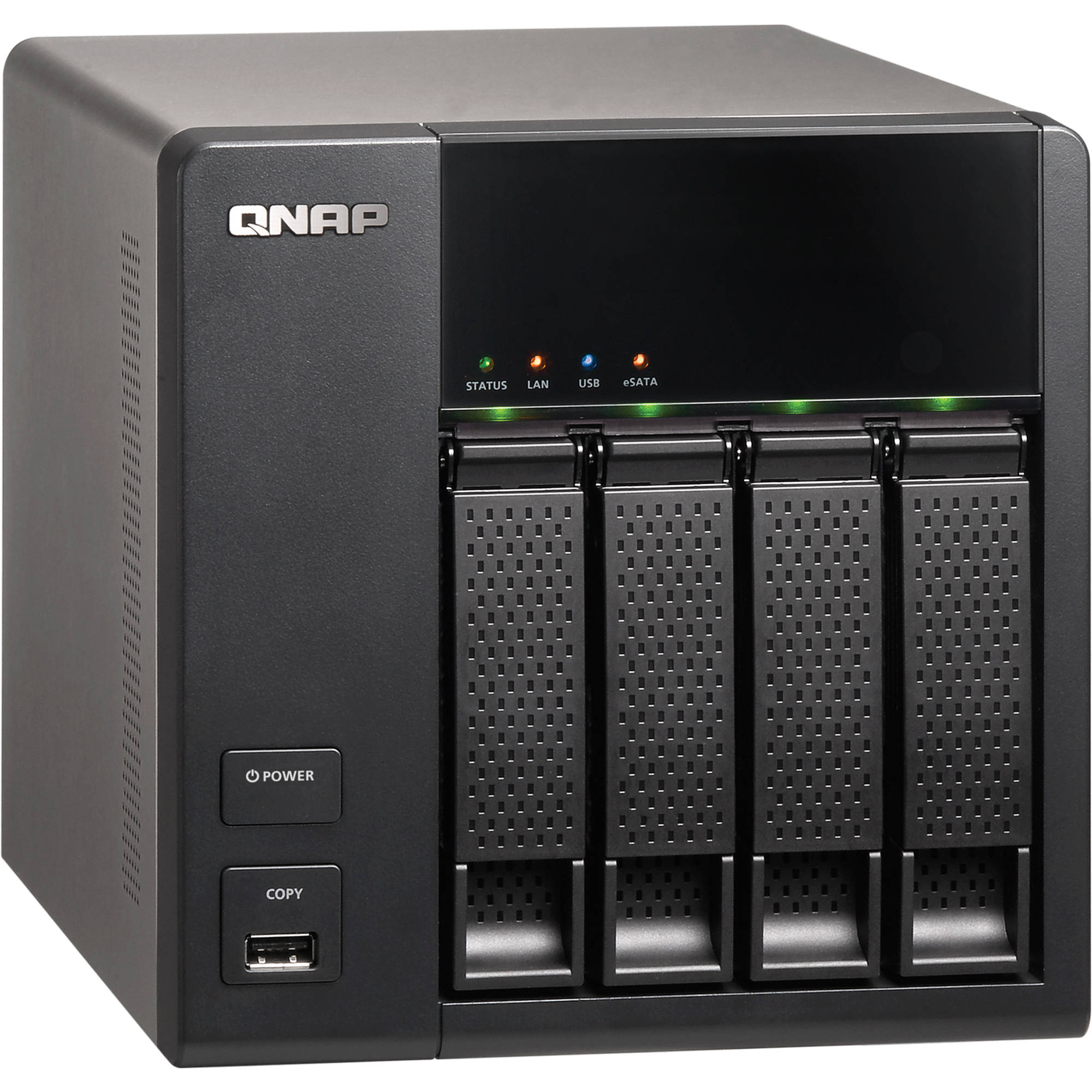 QNAP TS-420 4-Bay Home and SOHO NAS Server