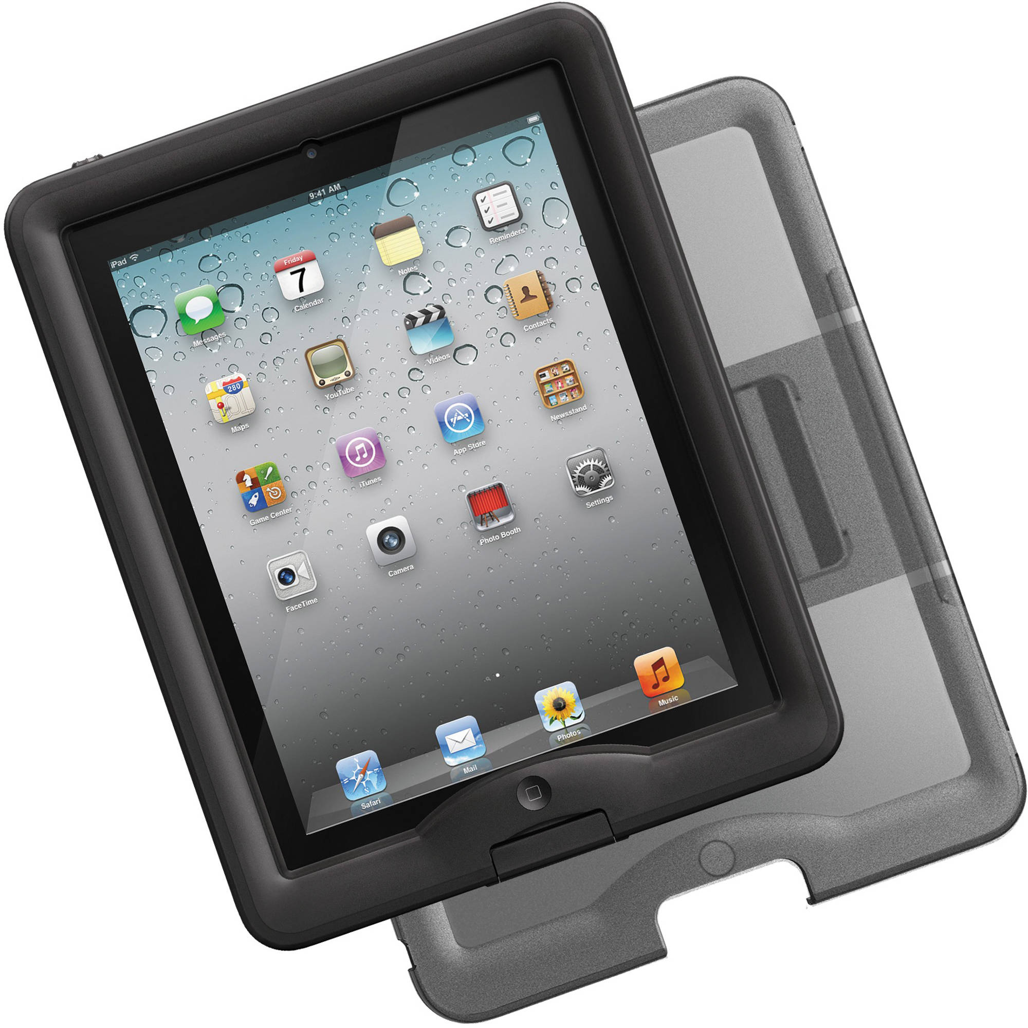the best attitude 4132c 9cd81 LifeProof nüüd Case & Cover/Stand for iPad 2nd, 3rd, 4th Gen (Black)