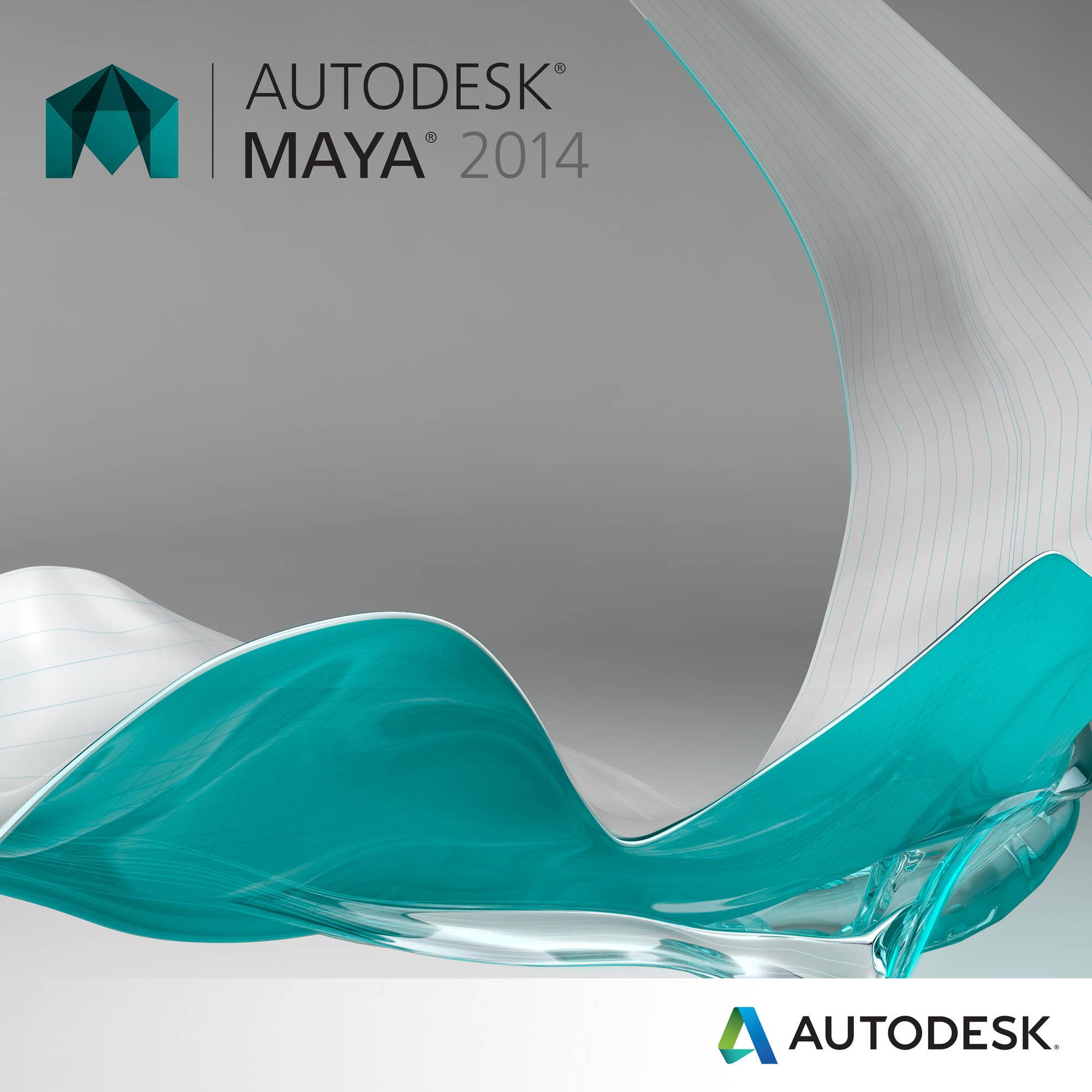 Autodesk Maya 2014 (SLM - Stand-Alone Licensing)