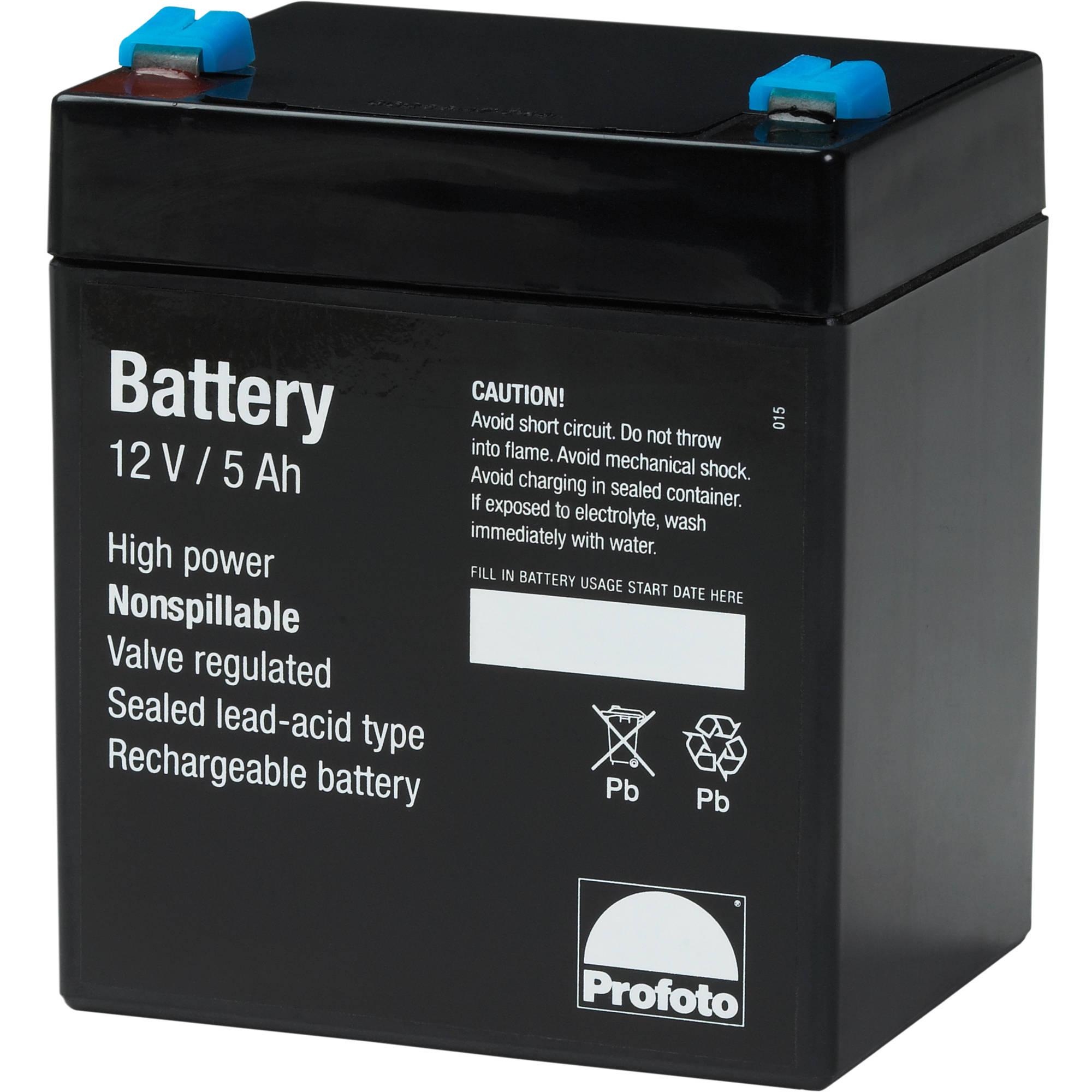 Lead Acid Battery >> Profoto Lead Acid Battery