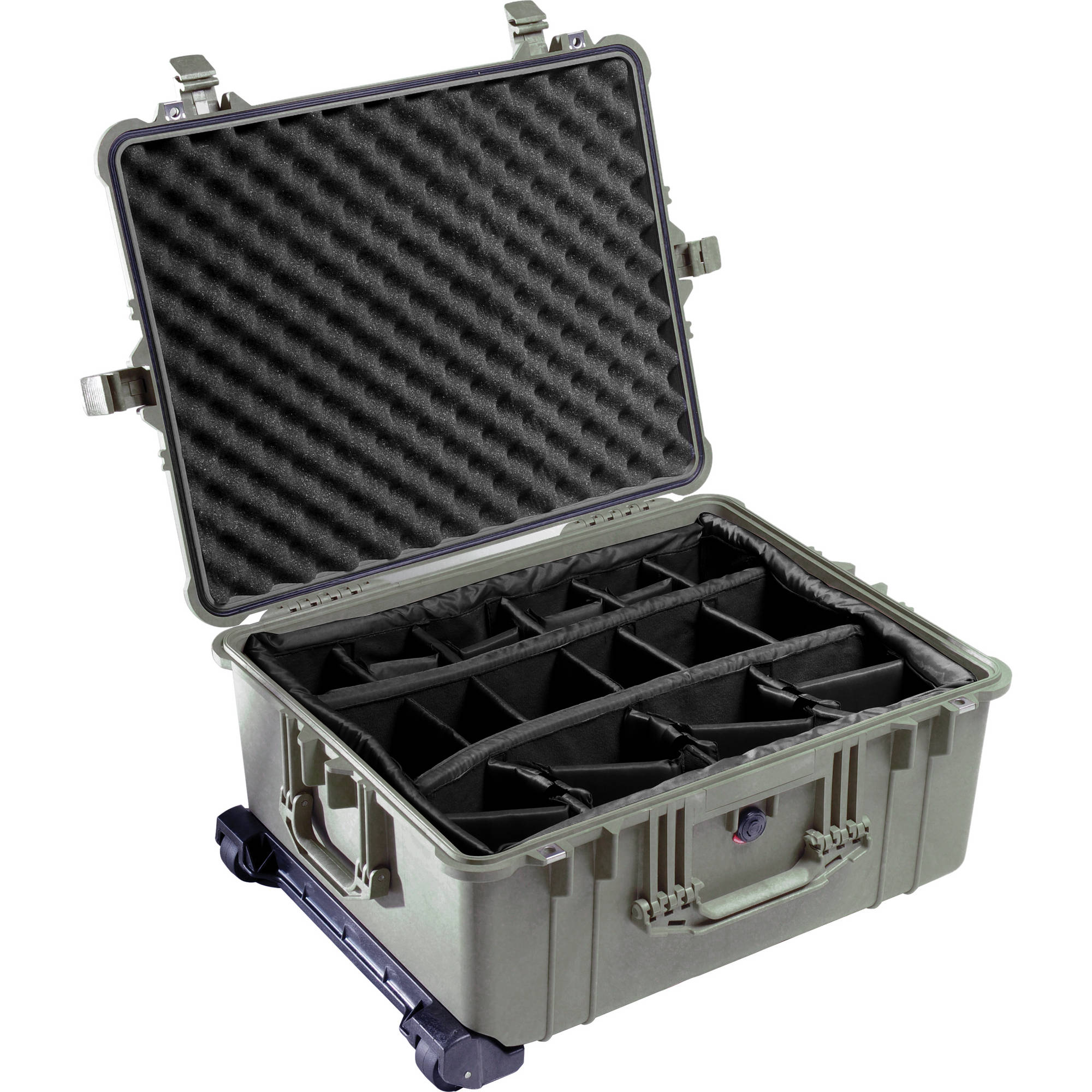 6127e9f41 Pelican 1614 Waterproof 1610 Case with Dividers 1610-024-110 B&H