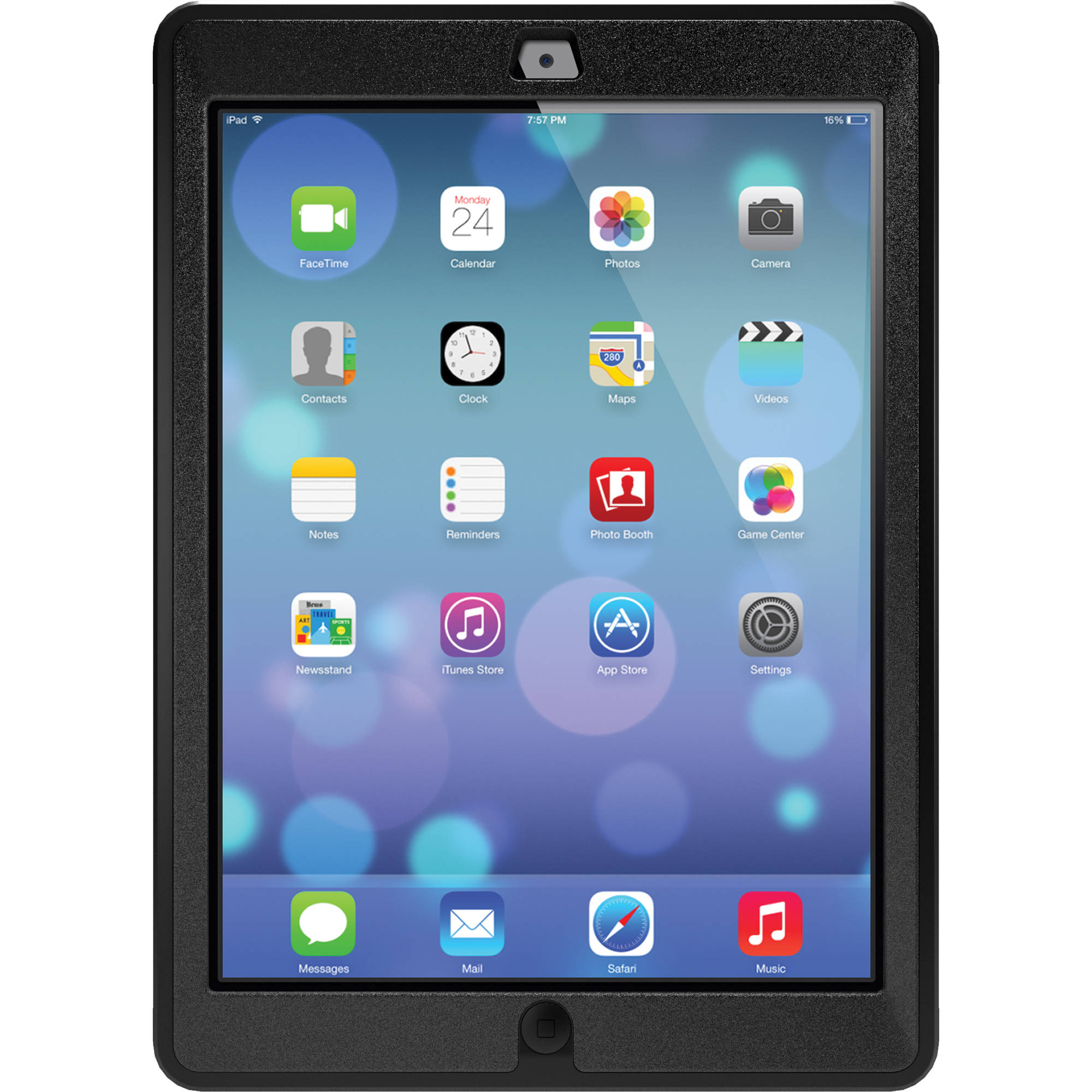 the best attitude 2bb9a 274c1 OtterBox iPad Air Defender Series Case (Black)