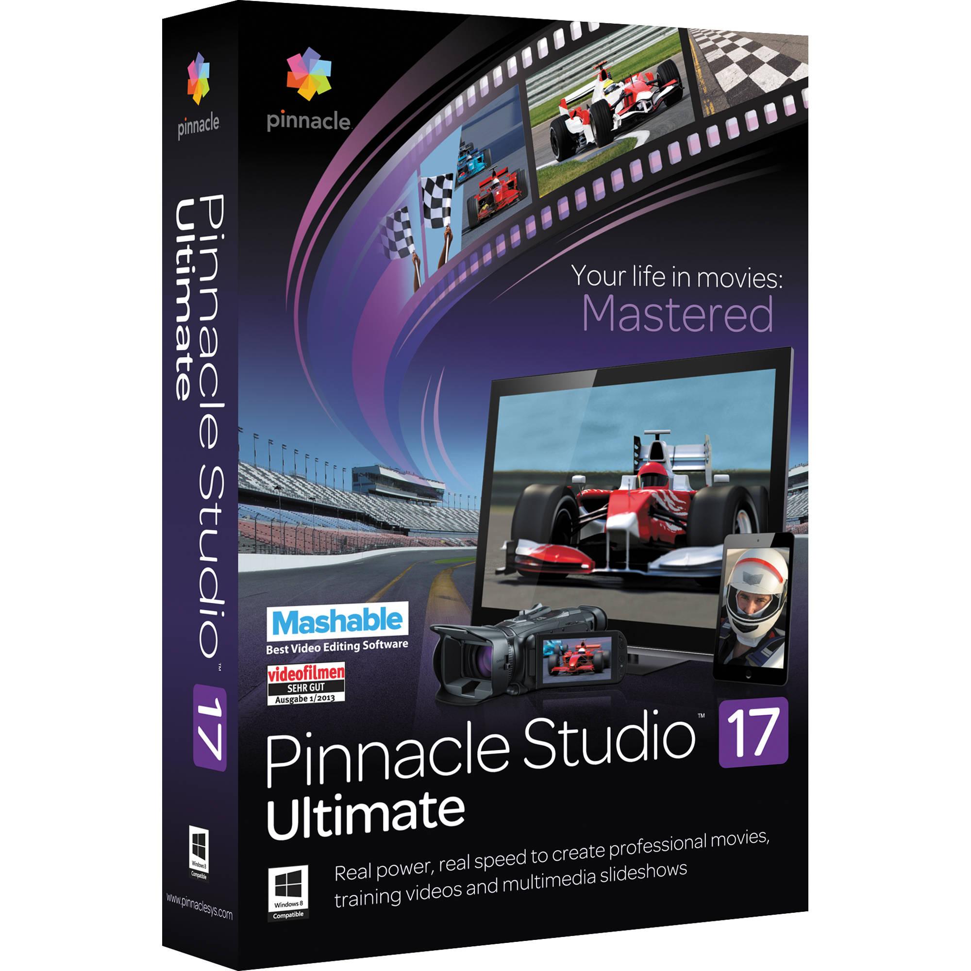 Pinnacle Studio 17 Ultimate 64 bit
