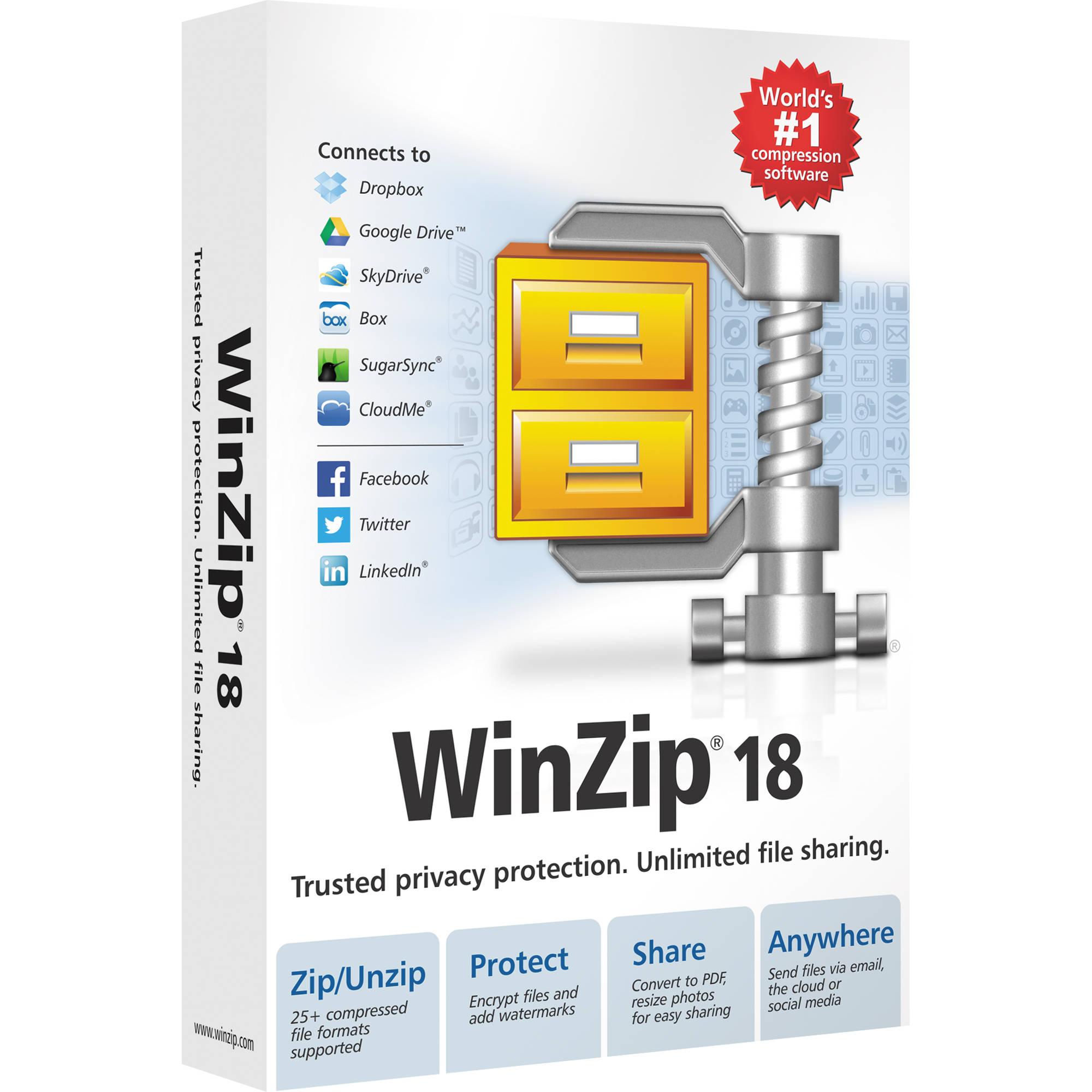 Corel WinZip 18 Standard for Windows