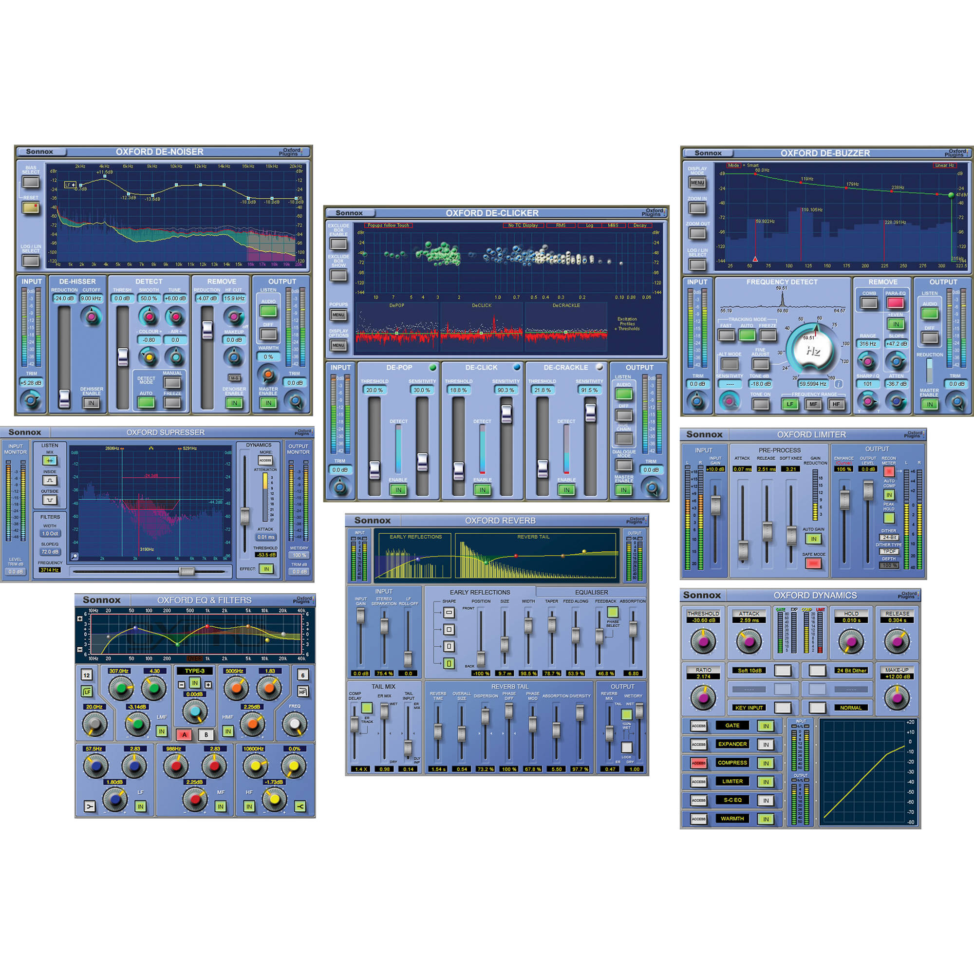 Sonnox Post - Audio Post Production Plug-In Suite (TDM) POST HD