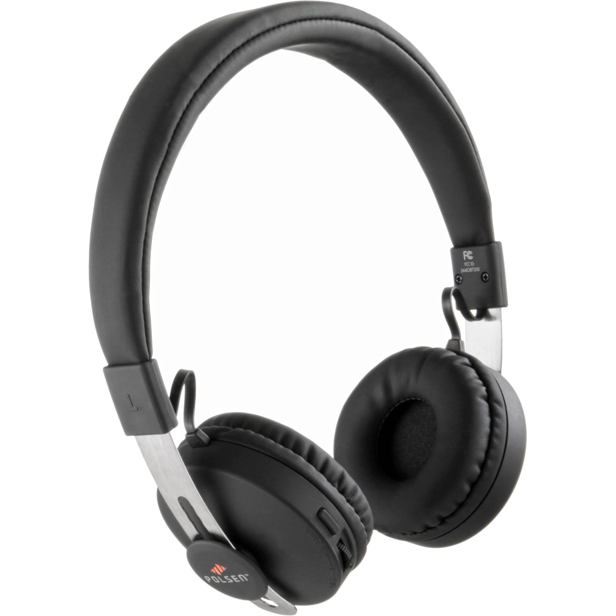 10Mb polsen hco-10mb on-ear bluetooth headset with microphone