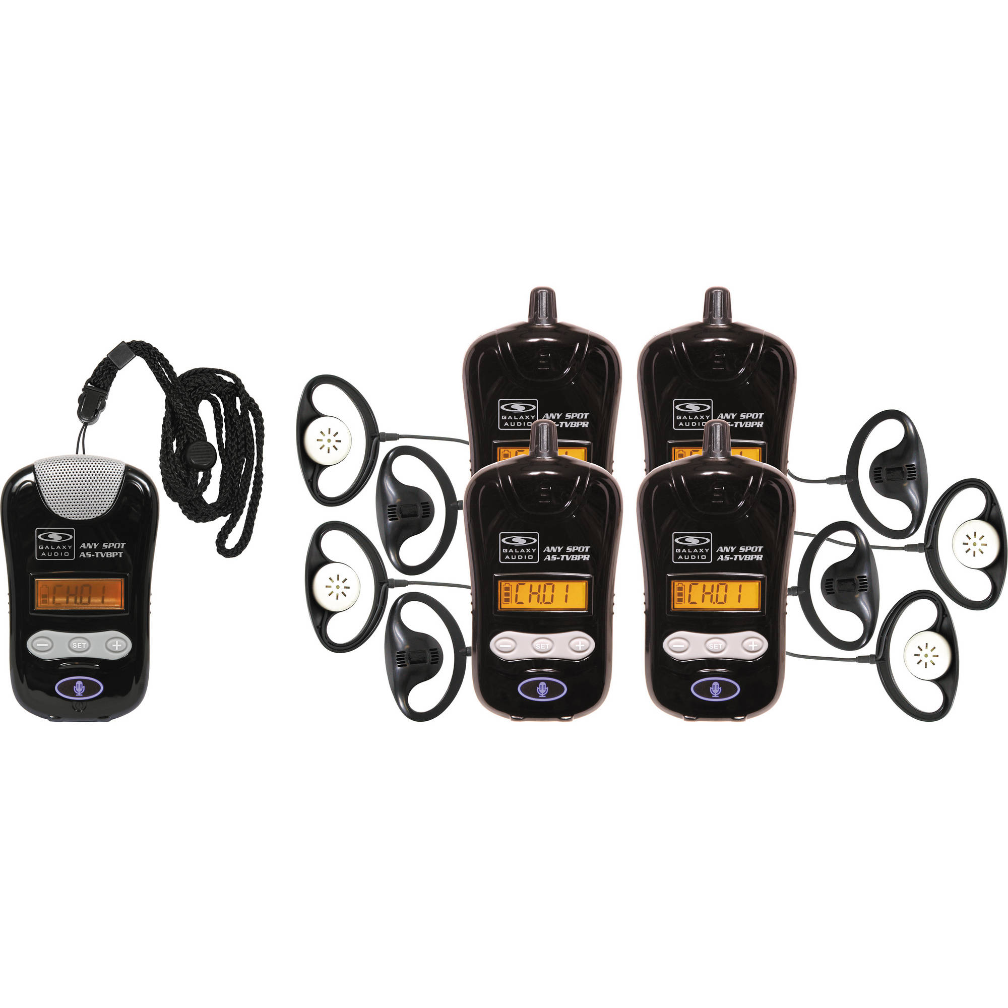 Galaxy Audio AS-DCBPTR DC Charger for Pendant Style Transmitters and Receivers