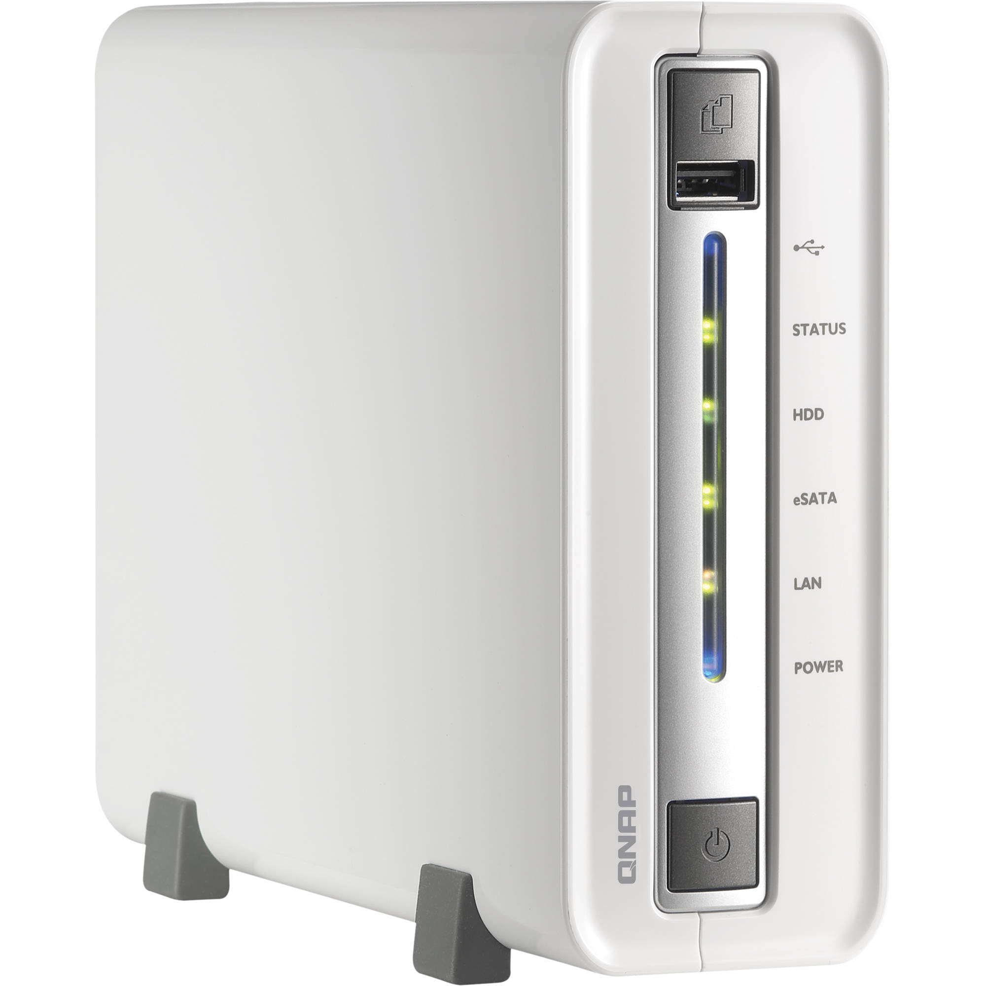 QNAP TS-112P 1-Bay Home and SOHO NAS for Personal Cloud