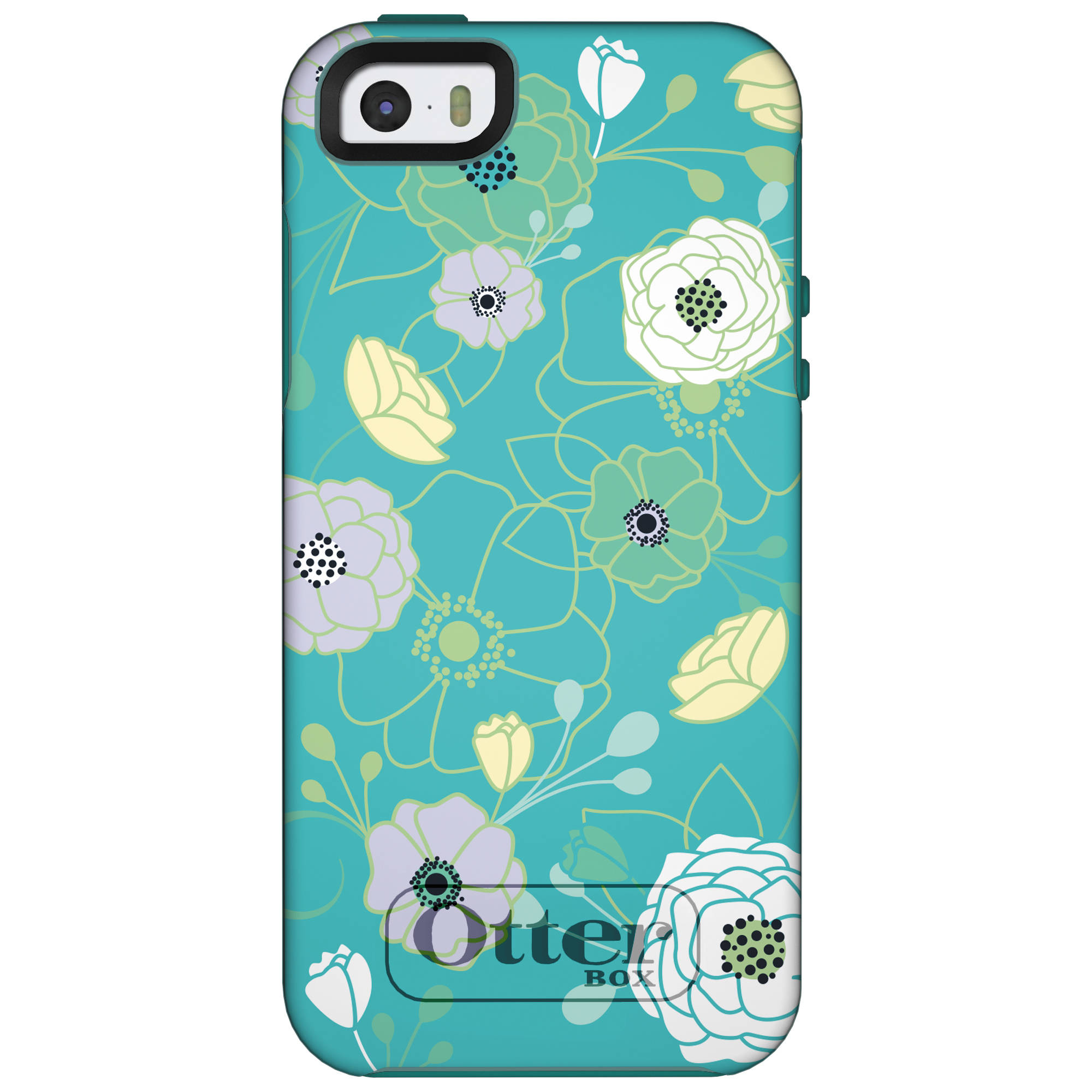 huge discount 28ef2 4d08c OtterBox Symmetry Series Case for iPhone 5/5s/SE (Eden Teal)