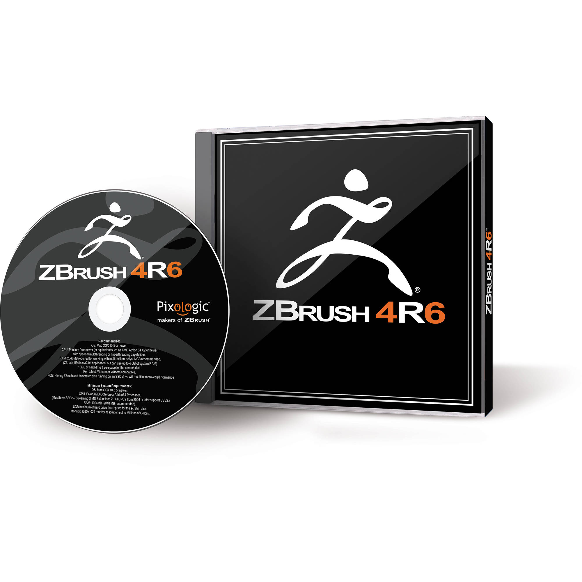 Pixologic ZBrush 4R6 Software for Windows (5-User Serialized License,  Download)