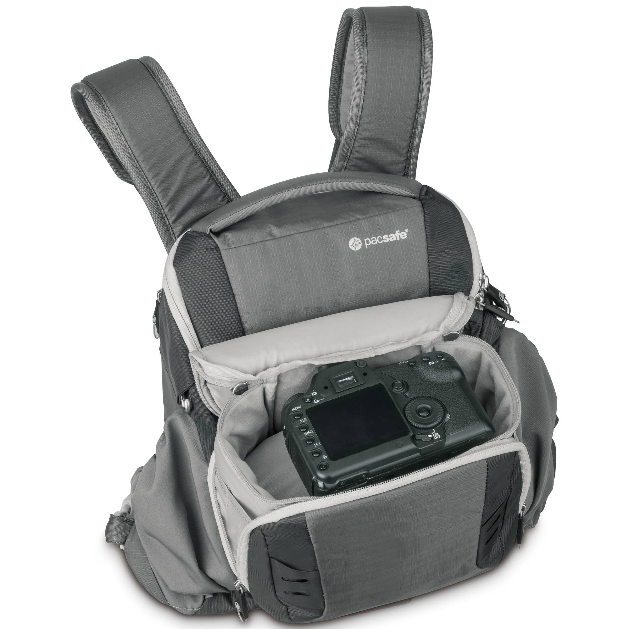Pacsafe Camsafe V11 Anti-Theft Camera Front Pack (Storm Gray)