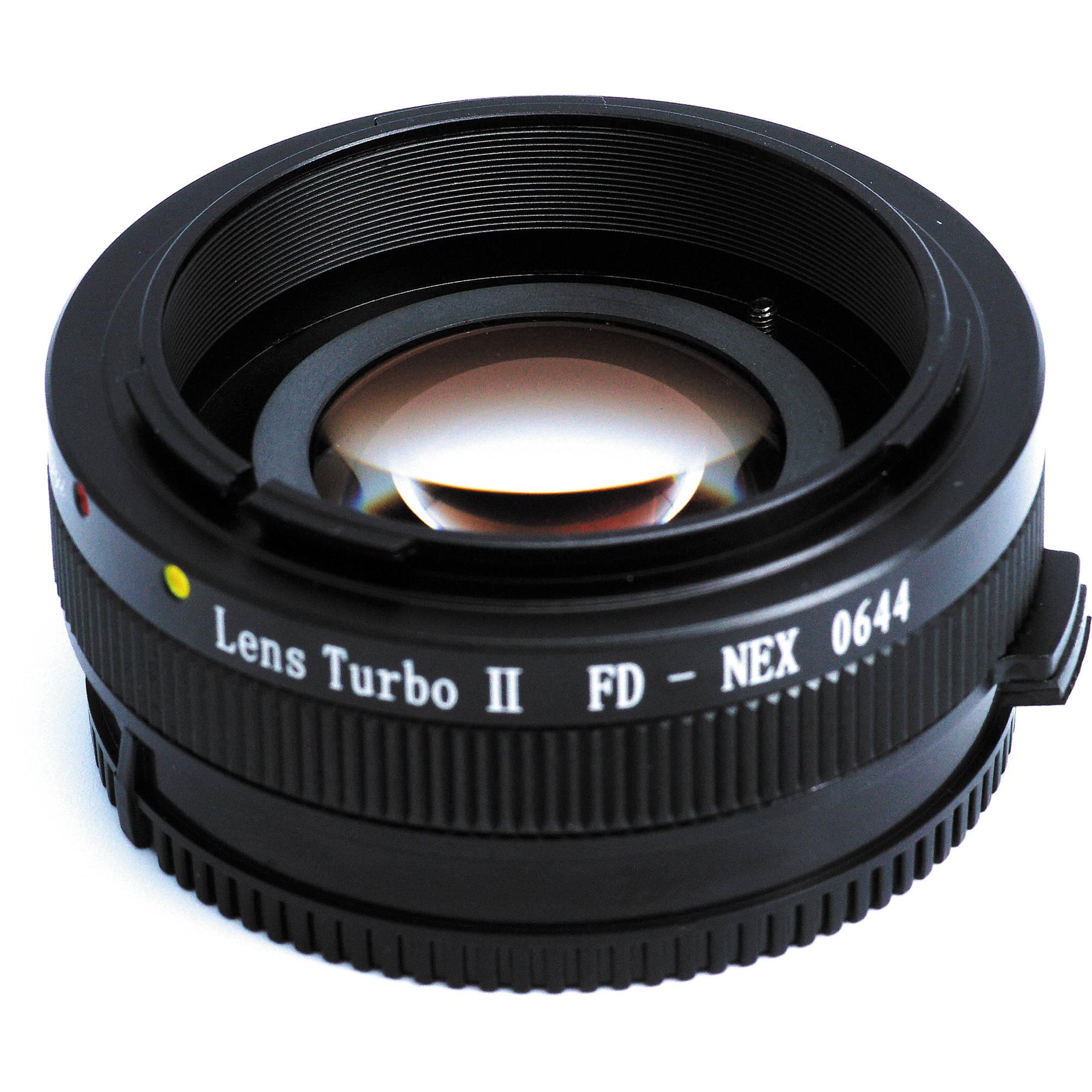 Mitakon Zhongyi Canon FD Lens to Sony E-Mount Camera Lens Turbo Adapter  Mark II