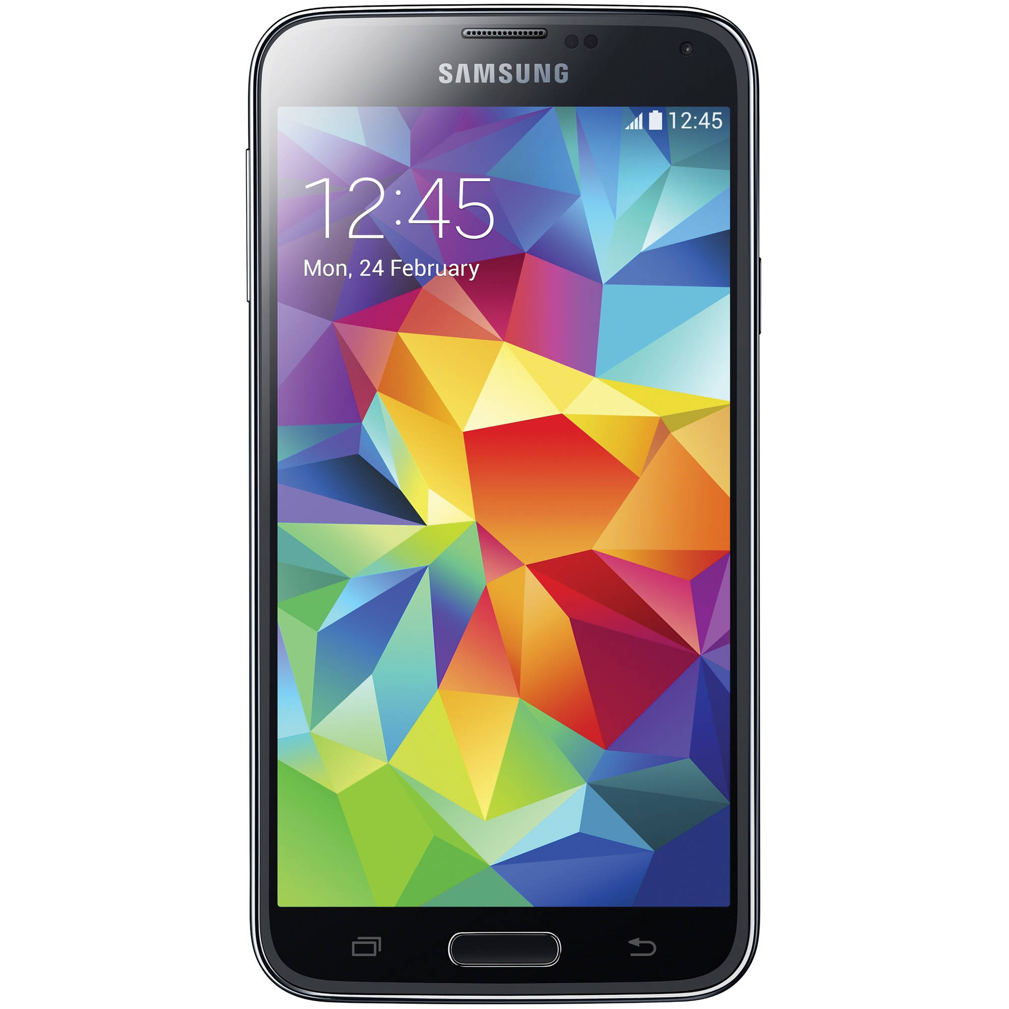Samsung Galaxy S5 Duos 16GB Smartphone (Unlocked, Charcoal Black)