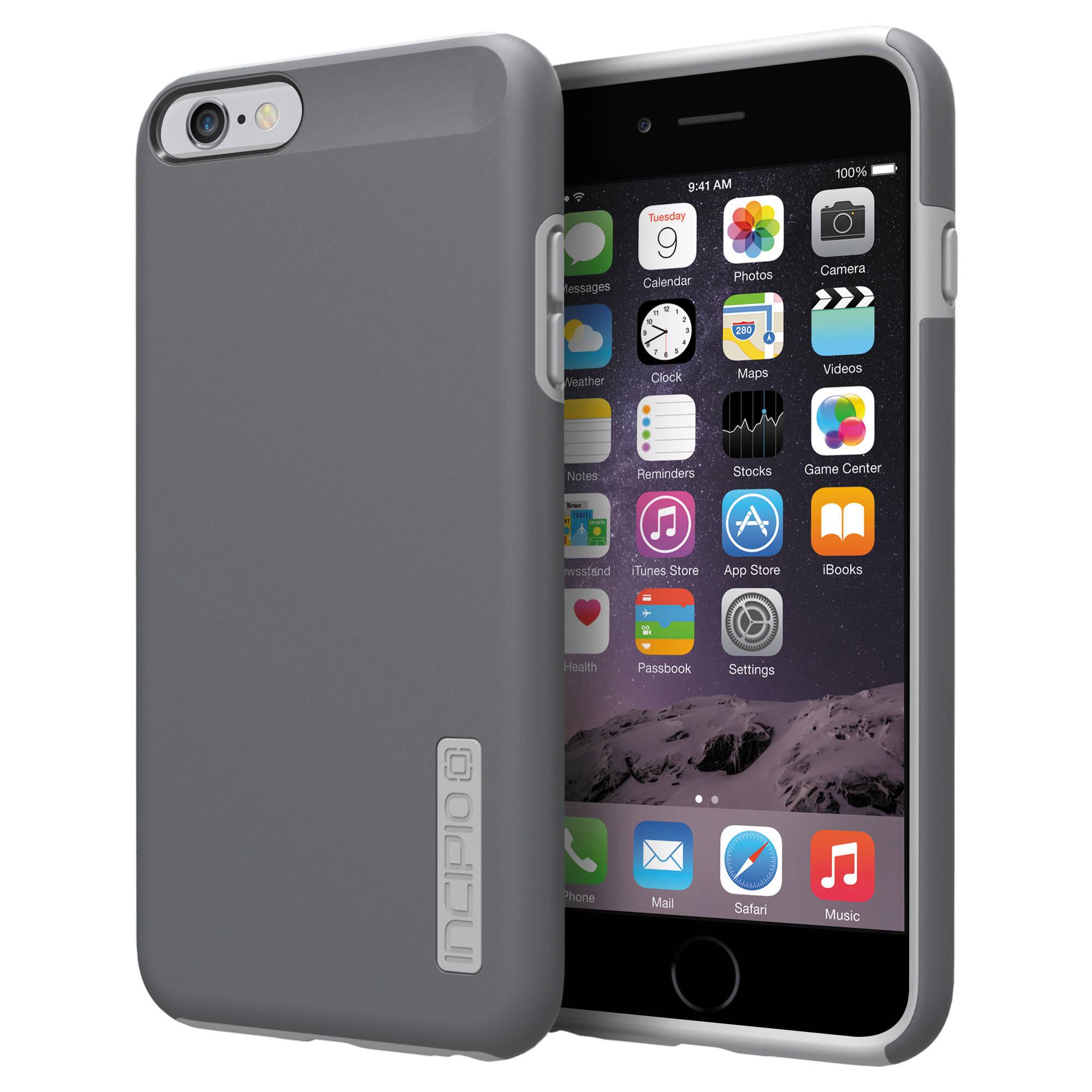 check out e4239 1a825 Incipio DualPro Case for iPhone 6 Plus/6s Plus (Dark Gray/Light Gray)