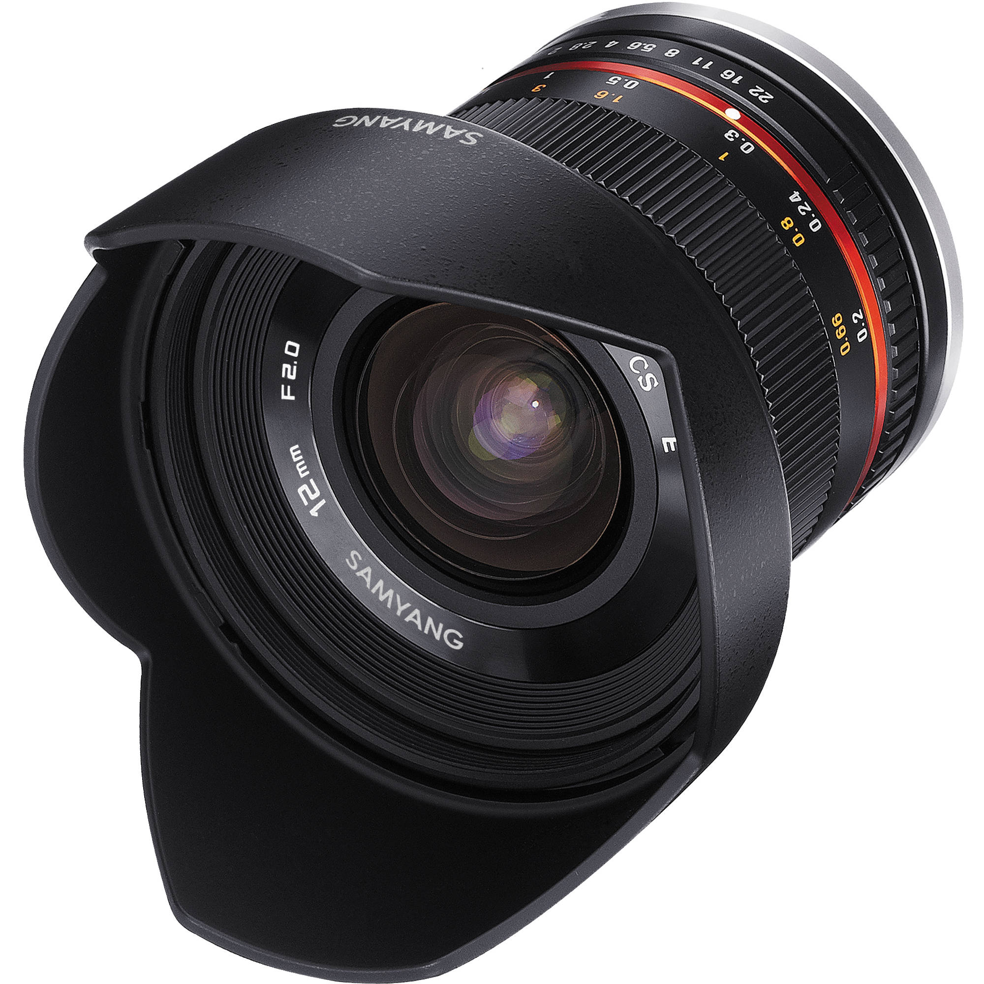 Opteka 12mm f//2.8 HD MC Manual Focus Wide Angle Lens for Sony E Mount APS-C Format Digital Cameras