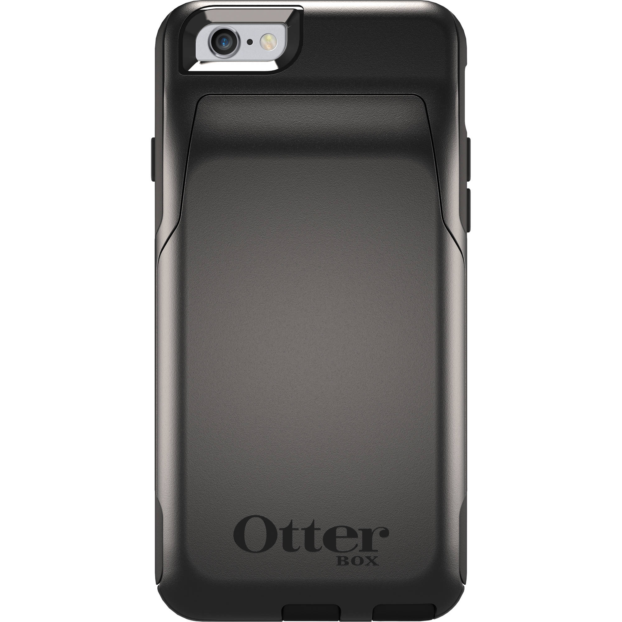 new style 4c865 7cf71 OtterBox Commuter Series Wallet for iPhone 6/6s (Black)