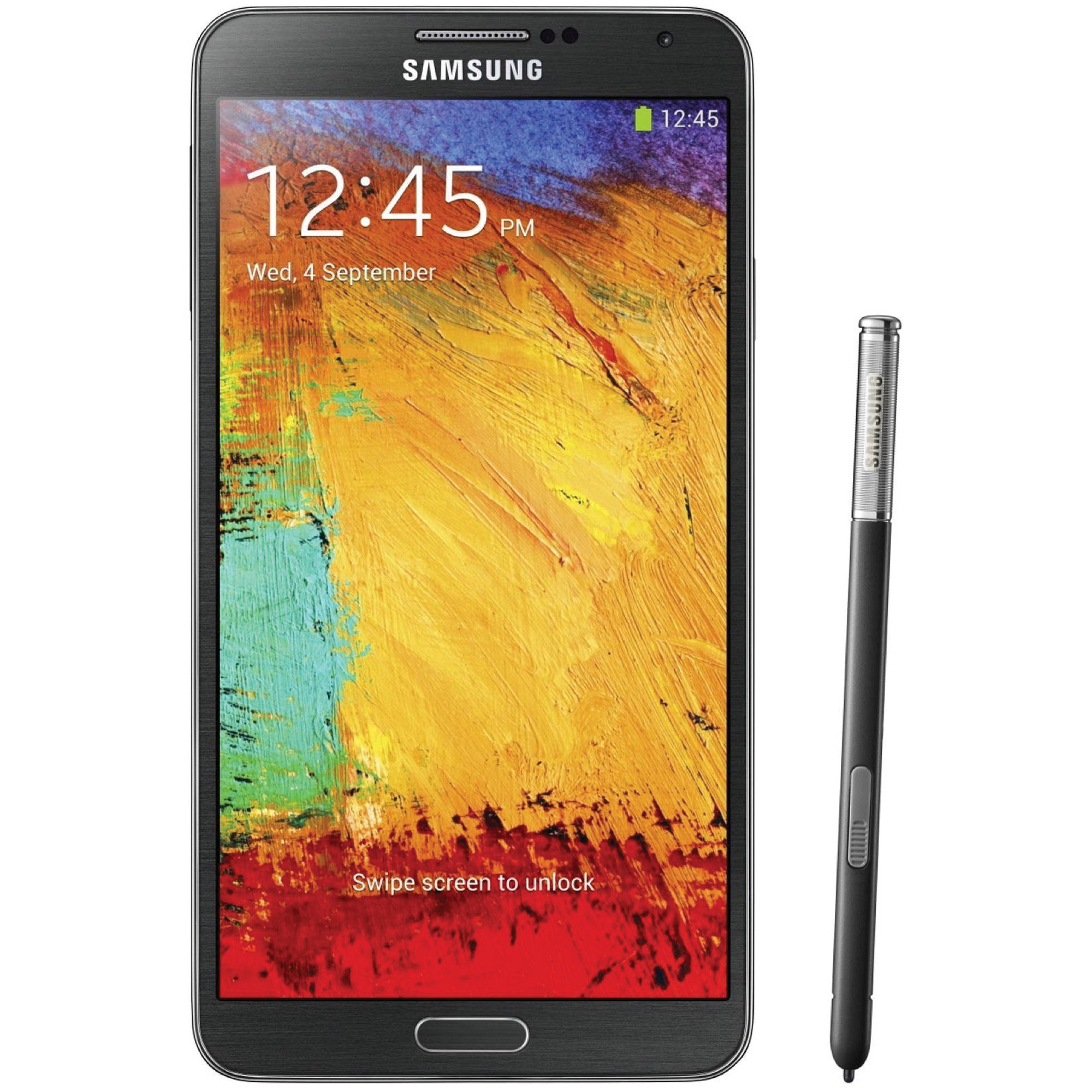 Samsung Galaxy Note 3 N900A 32GB AT&T Branded Smartphone (Unlocked, Black)