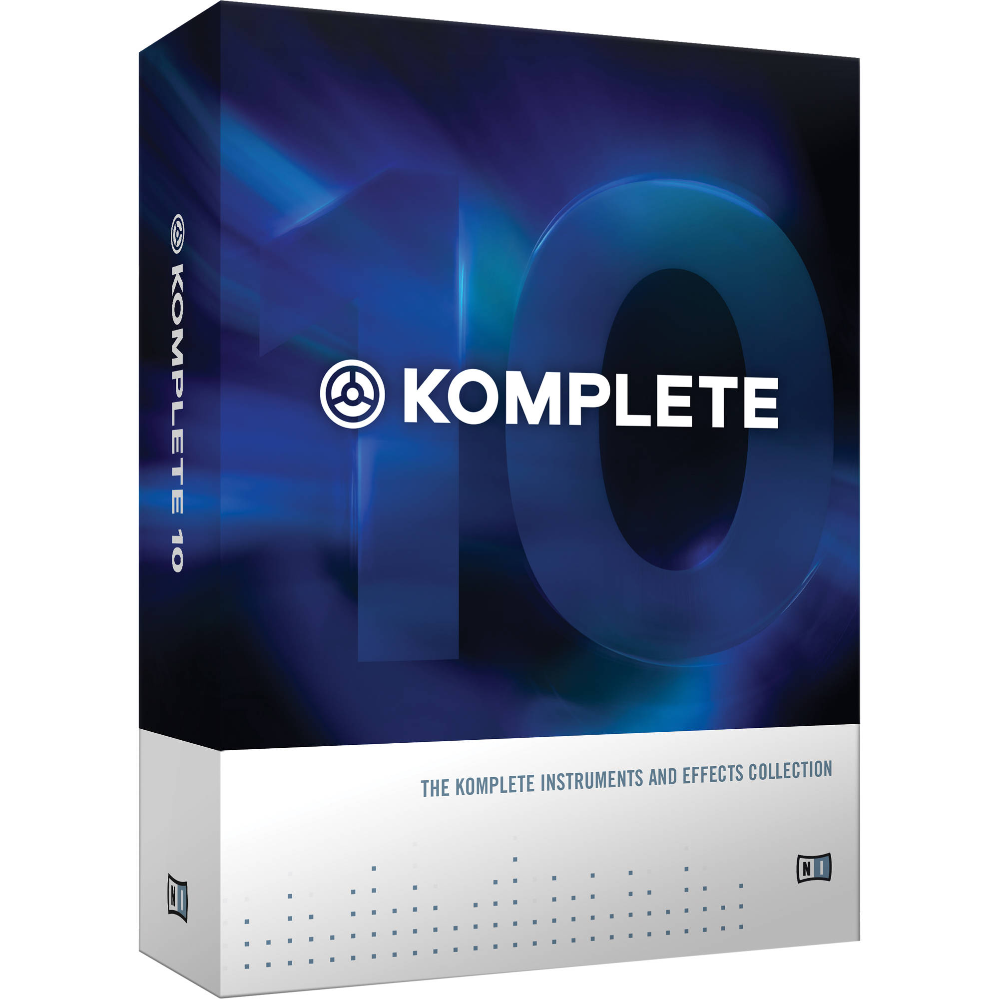 Native Instruments KOMPLETE 10 - Virtual Instruments and Effects Collection  (Educational Add-On License)