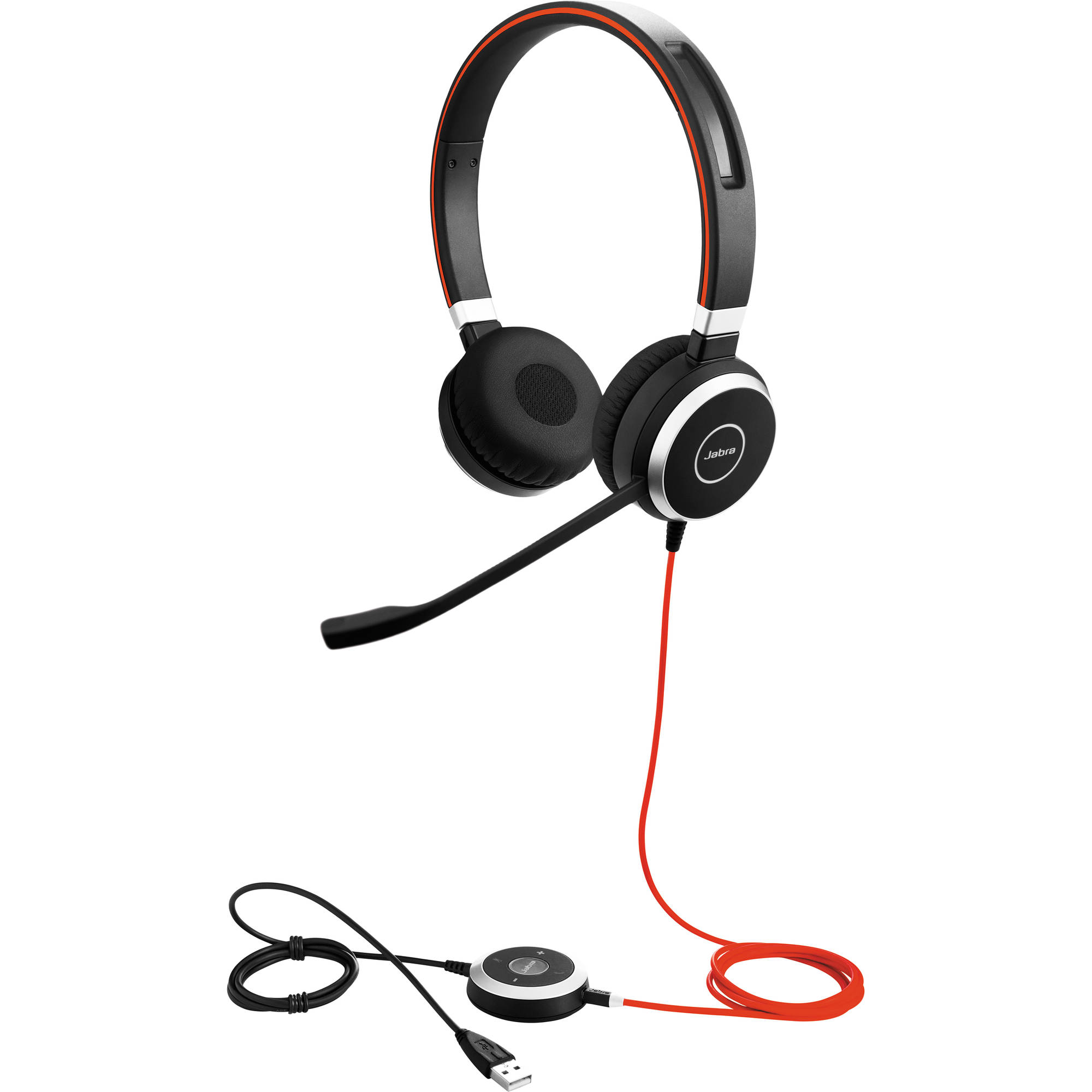 Jabra Evolve 40 Ms Stereo Headset 6399 823 109 B H Photo Video
