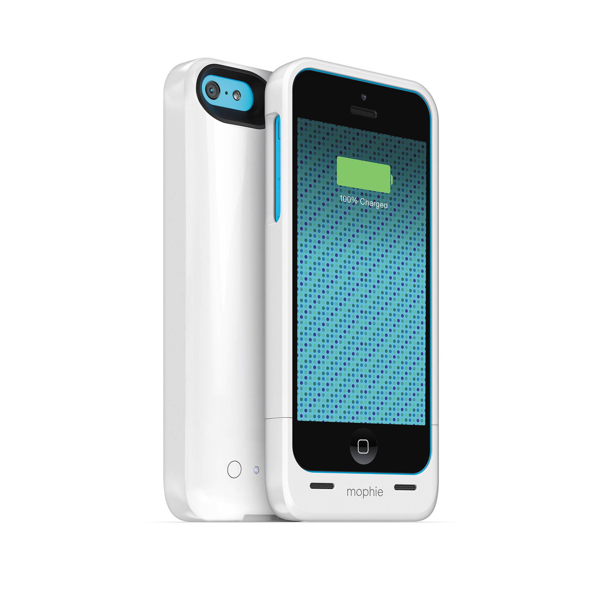 sports shoes 7e093 ae8be mophie juice pack helium for iPhone 5c (Gloss White)