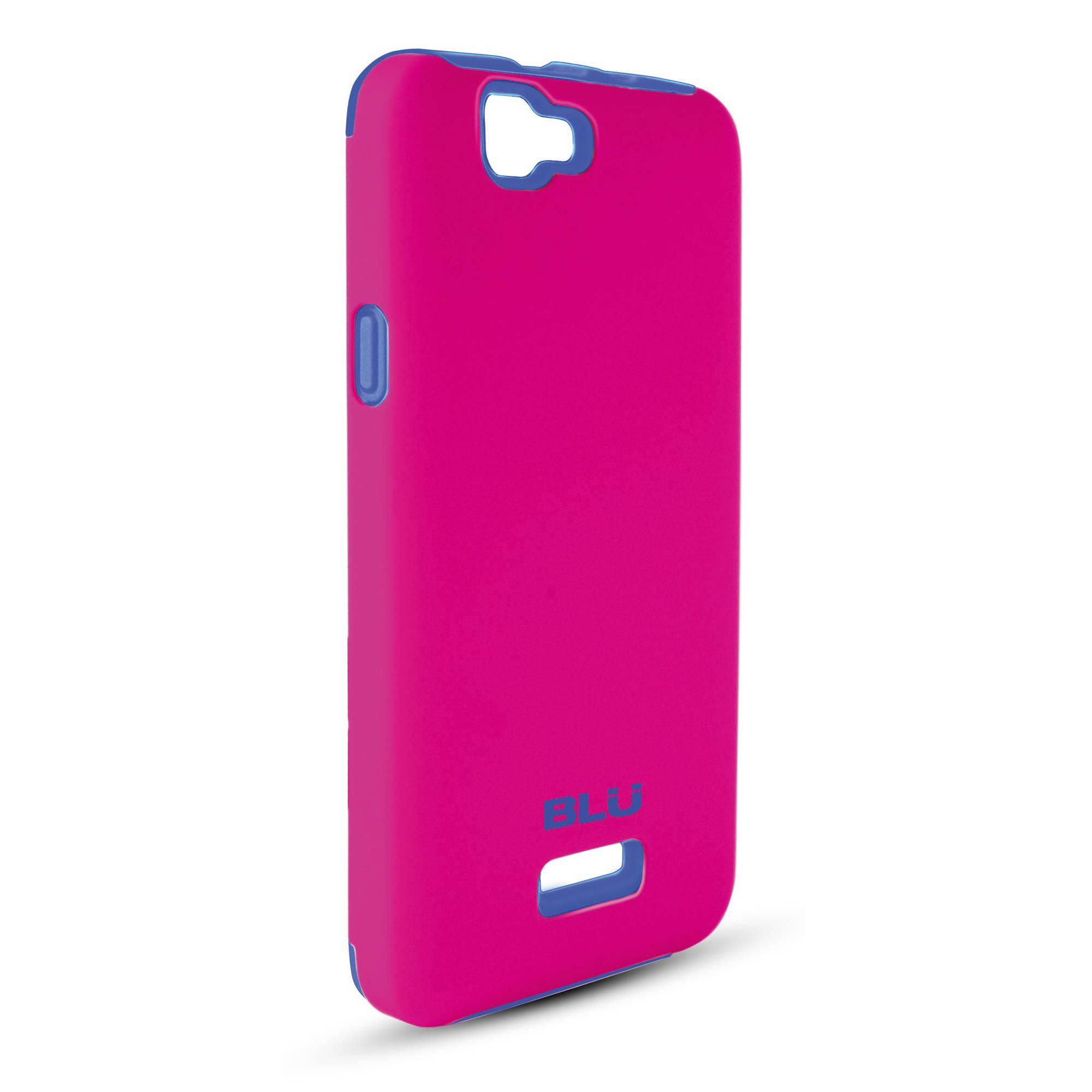more photos 900fd 3dda2 BLU Armorflex Case for Studio 5.0 C HD (Pink/Blue)