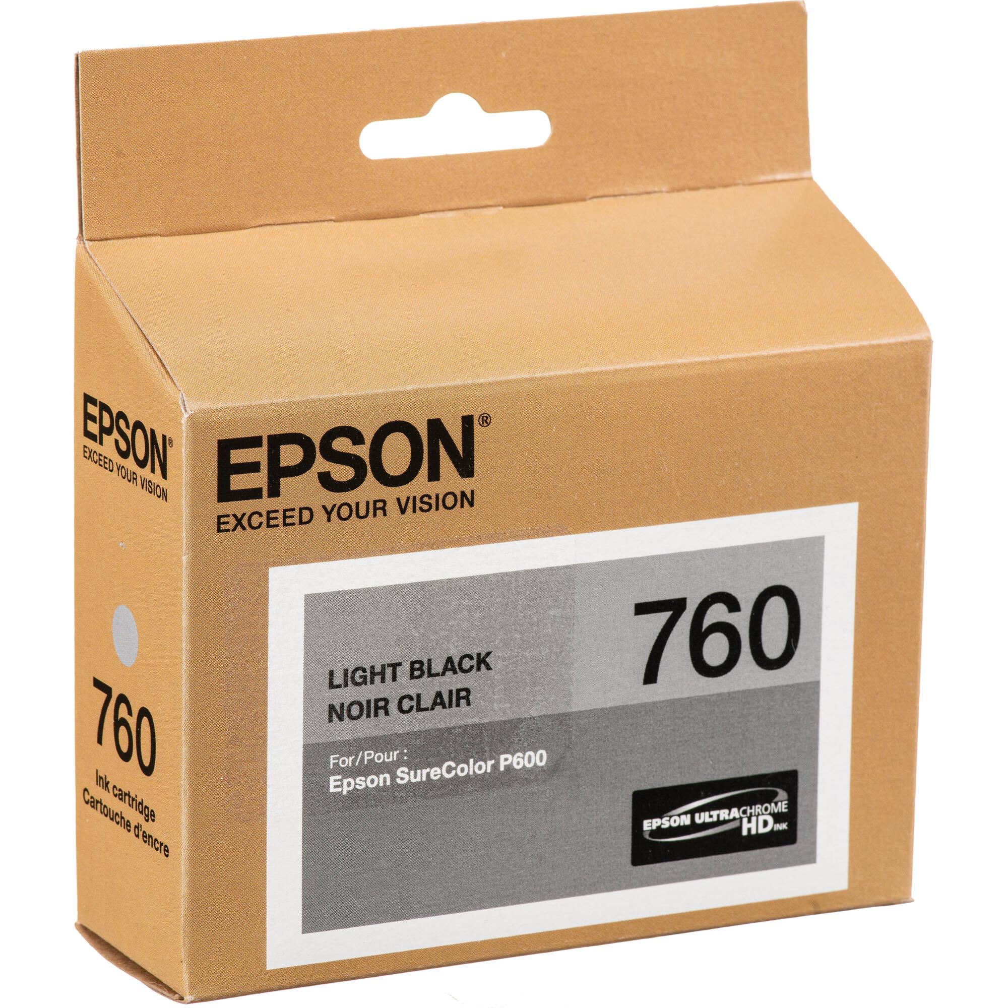 Epson C13T76094010 T7609 Ink Cartridge Light Black