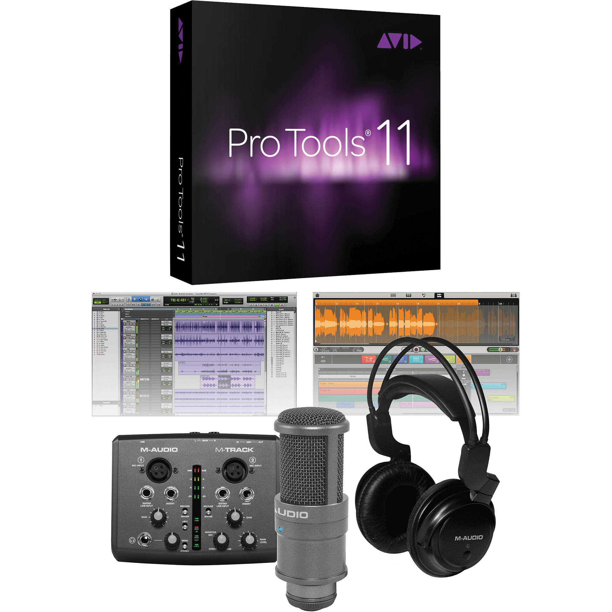 M-Audio Vocal Studio Pro with Pro Tools 11 Software Bundle