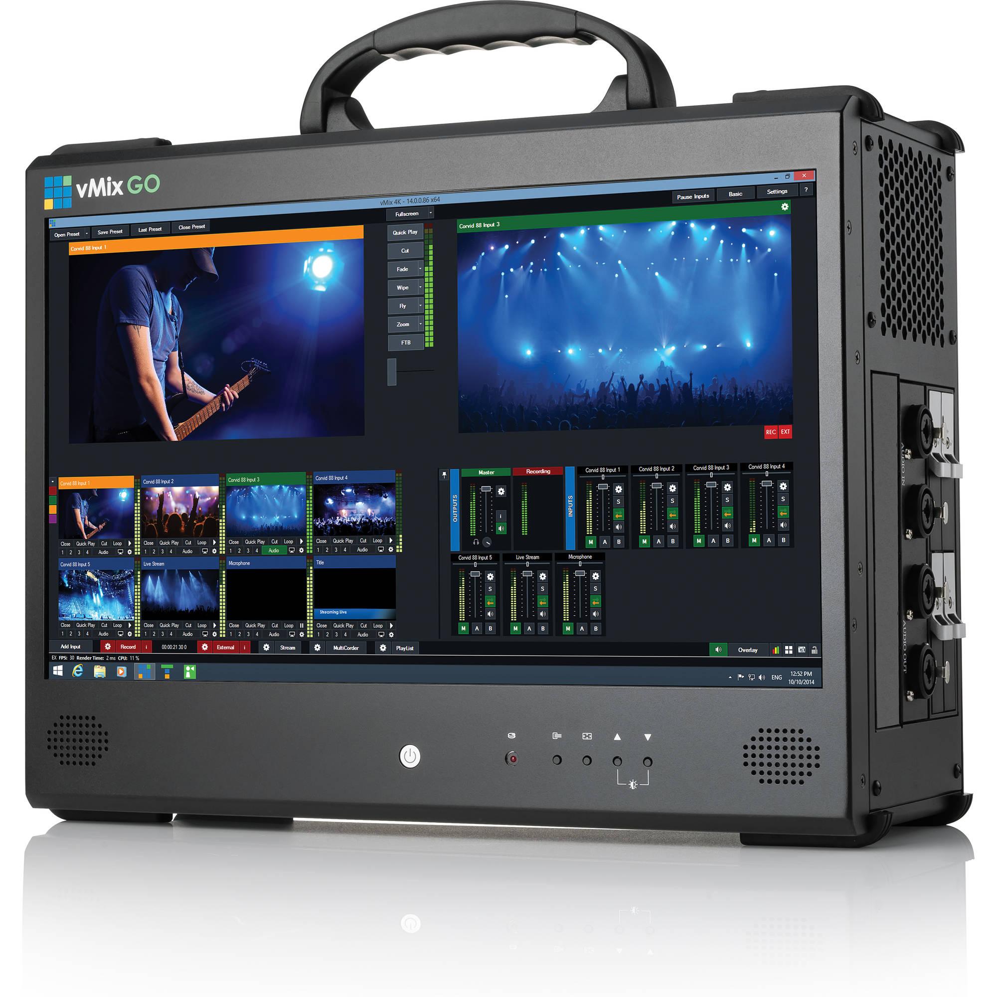 vMix GO Jr Portable Live Production Solution