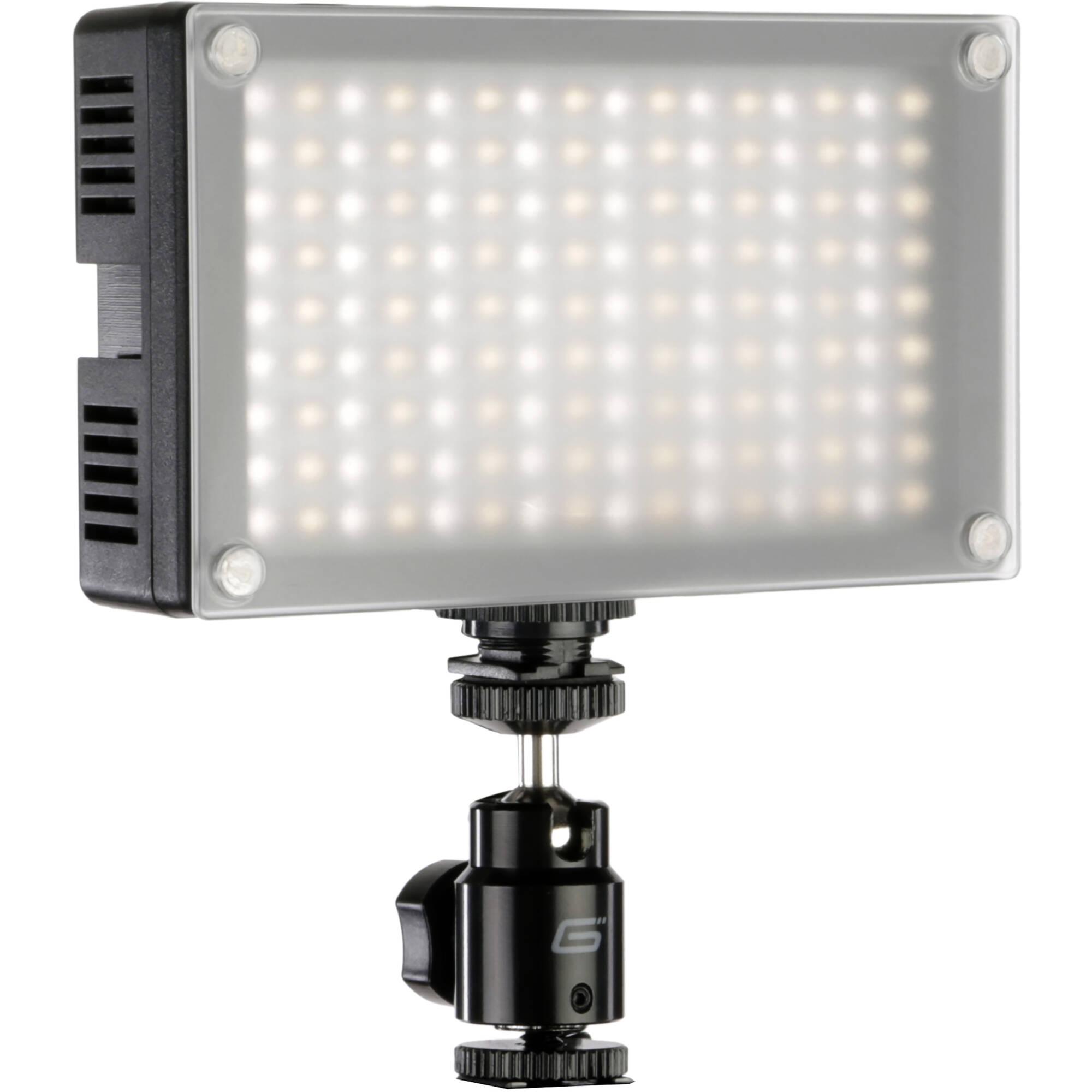 Variable Camera On 6200t Genaray 144 Color Led Light exdCoB