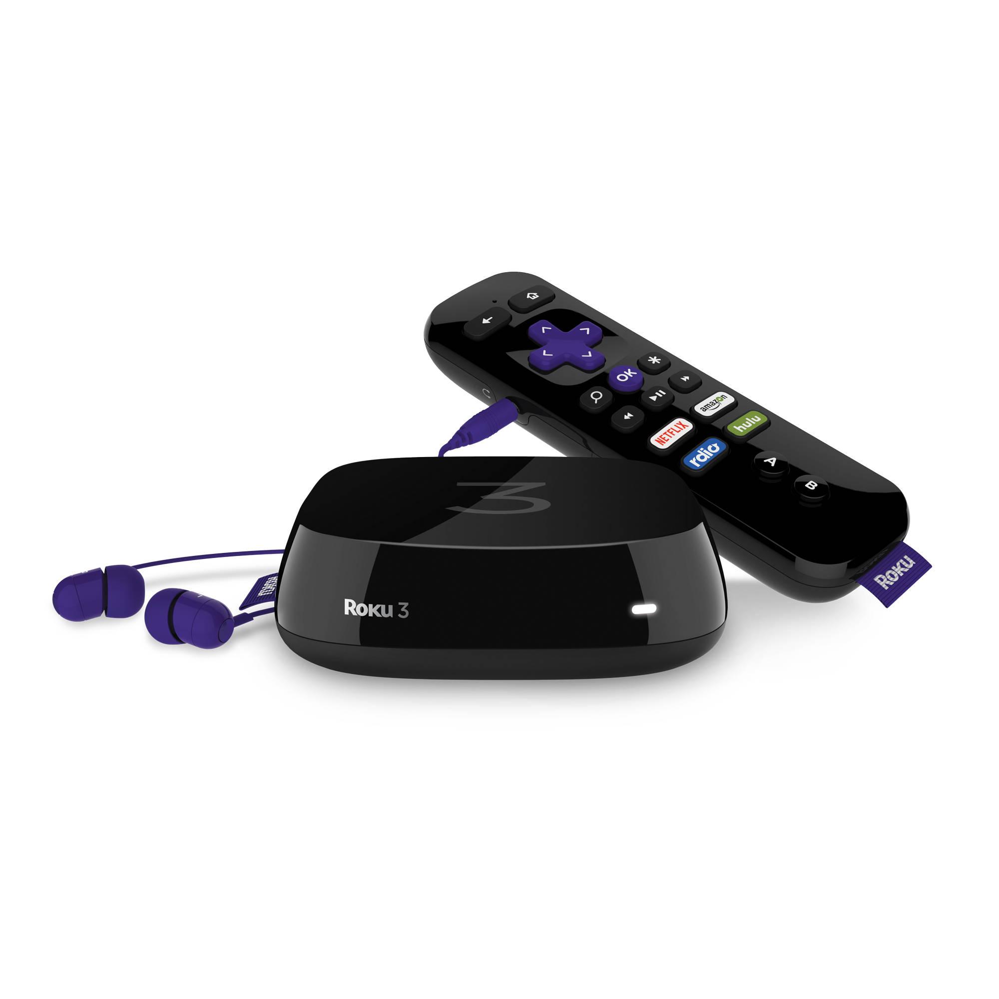 Roku 3 Streaming Player (2015 Model)