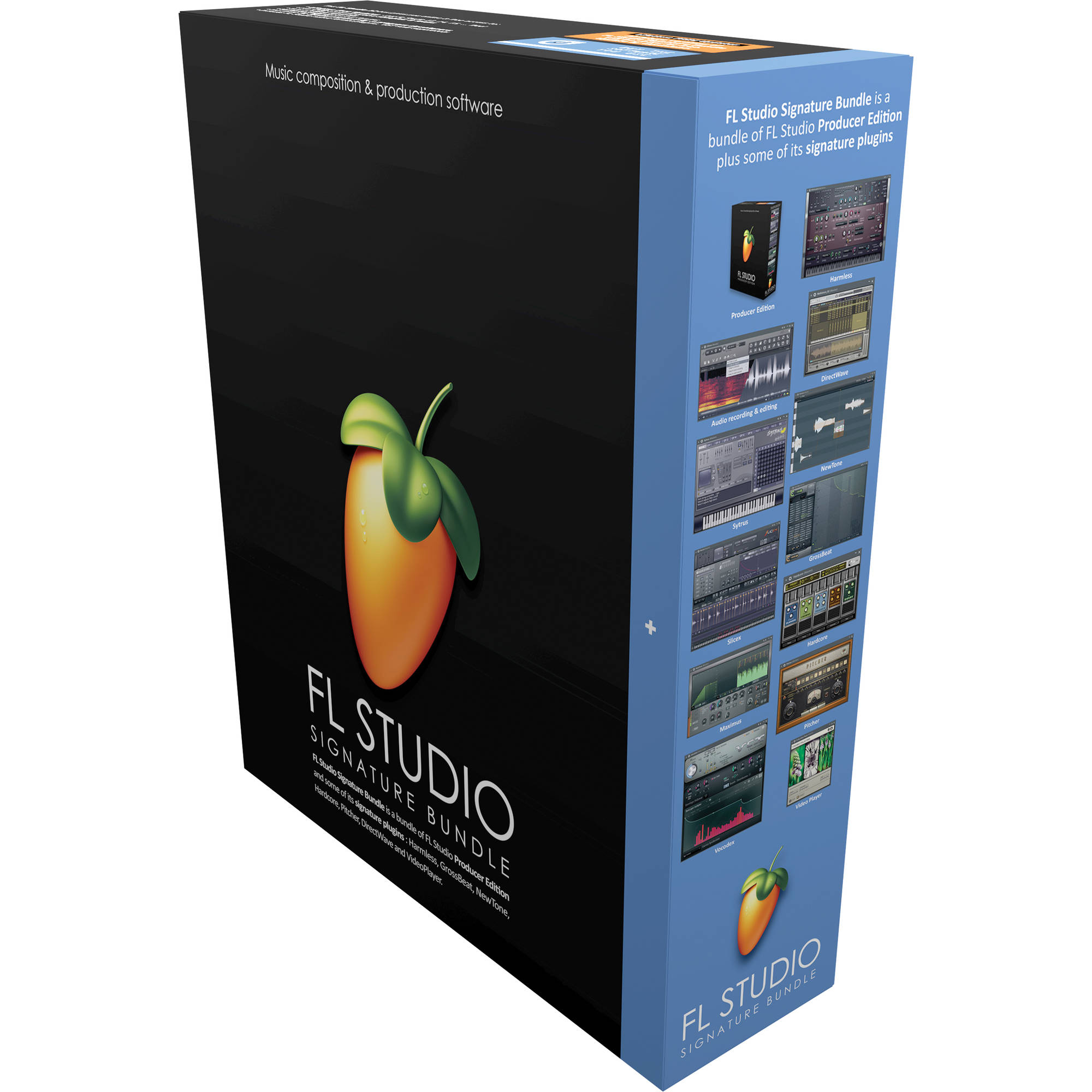Image-Line FL Studio 12 Signature Edition - Complete Music Production  Software (Boxed)