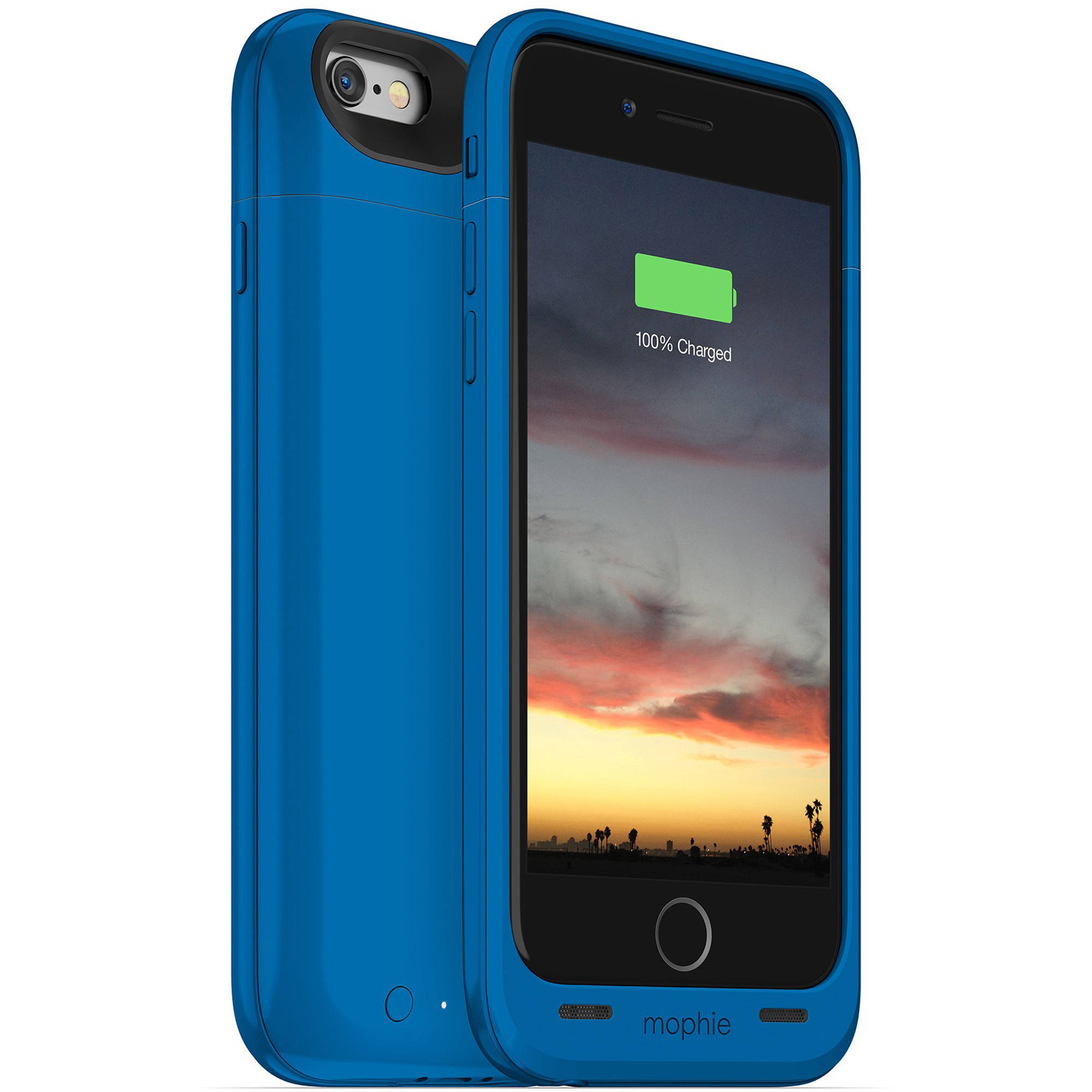 check out 3ab7a 3b1e2 mophie juice pack air for iPhone 6/6s (Blue)