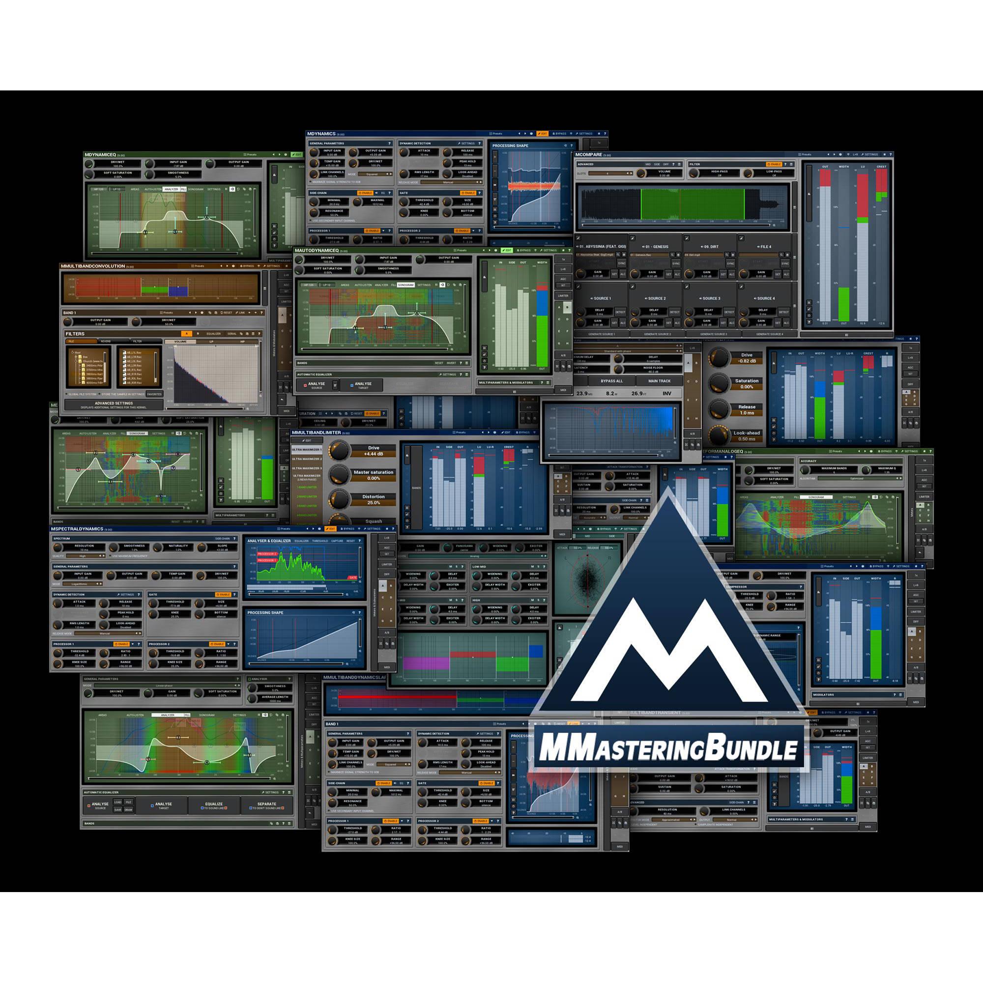 MeldaProduction MMasteringBundle - Mastering Plug-Ins 11-30161